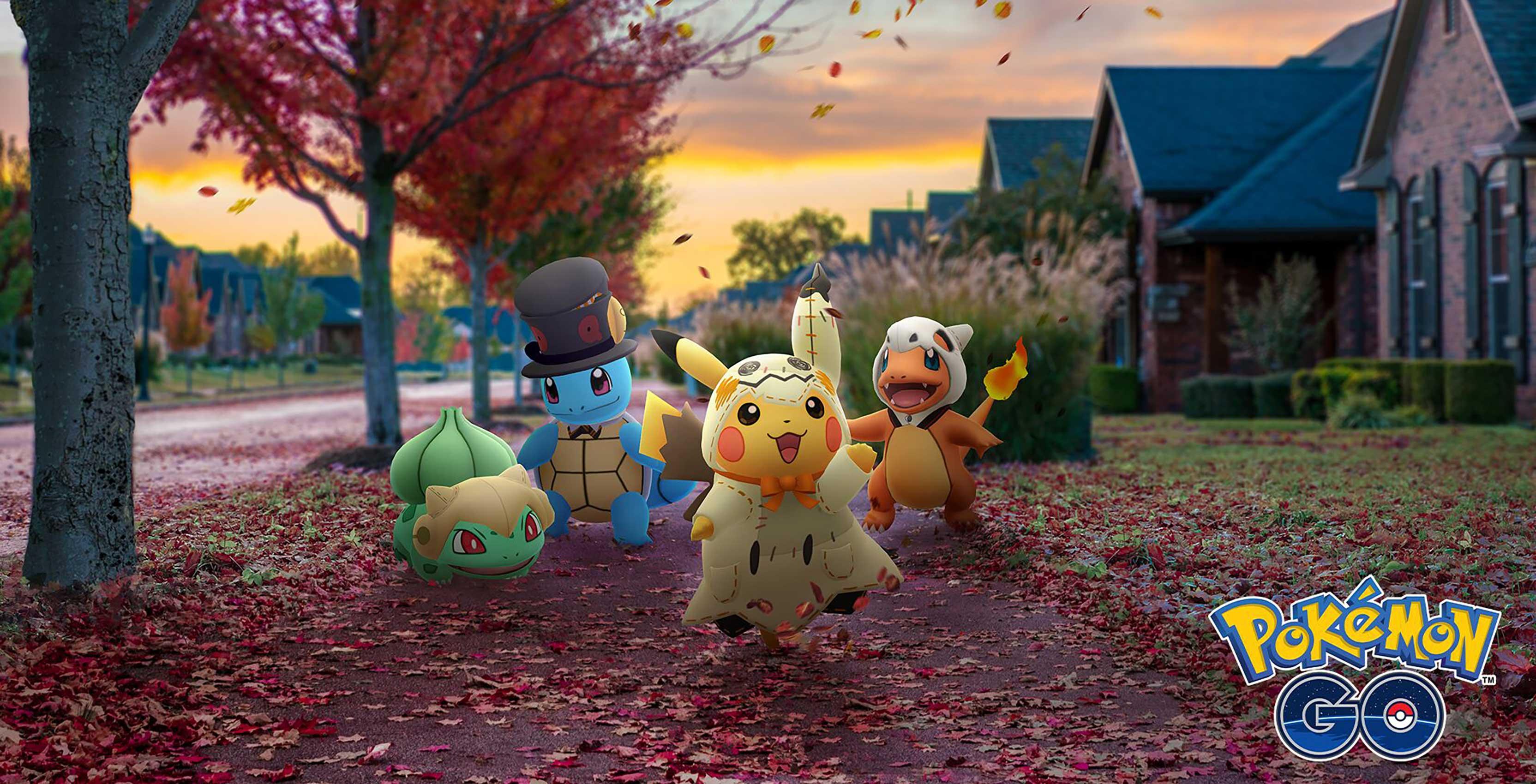 Pokémon Go celebrates Halloween with Darkrai and costumed monsters