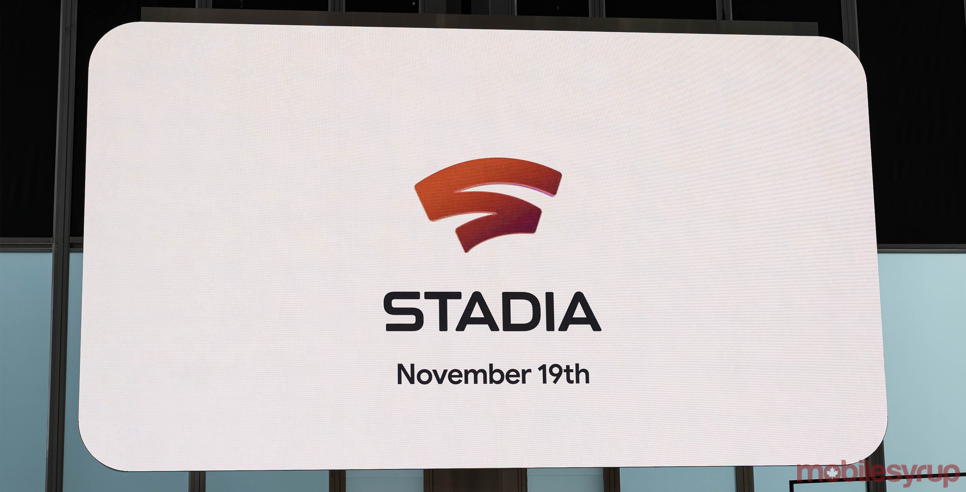 Google Stadia will launch in Canada on November 19