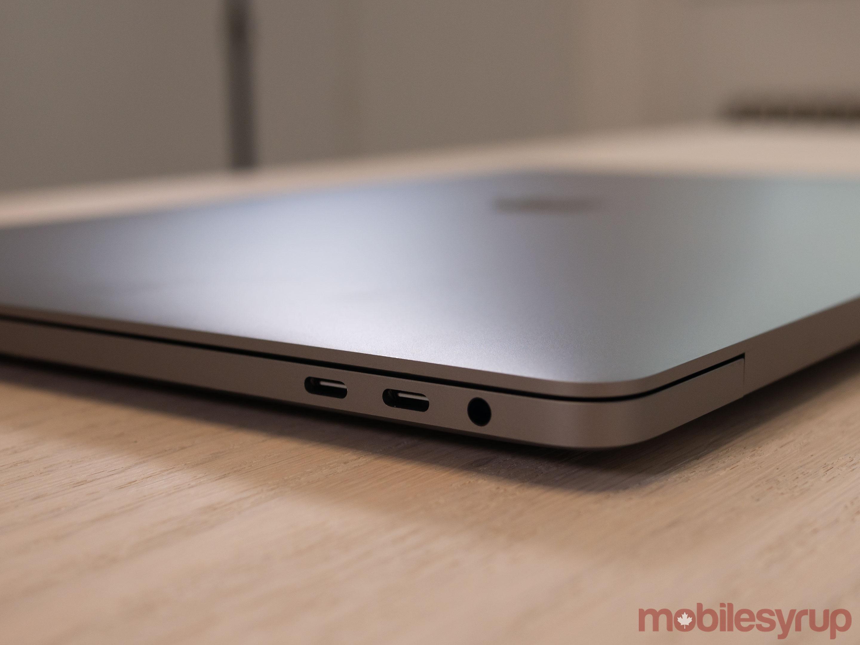 16-inch MacBook Pro USB-C ports