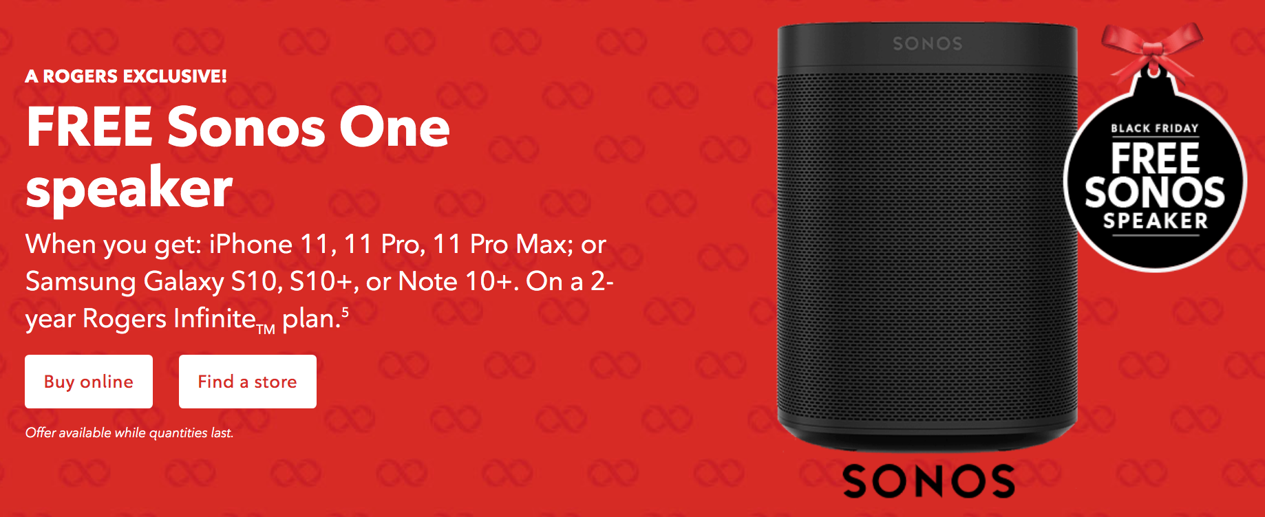 Rogers Offering Free Sonos One Speaker With Select Smartphone Purchases On Two Year Plan