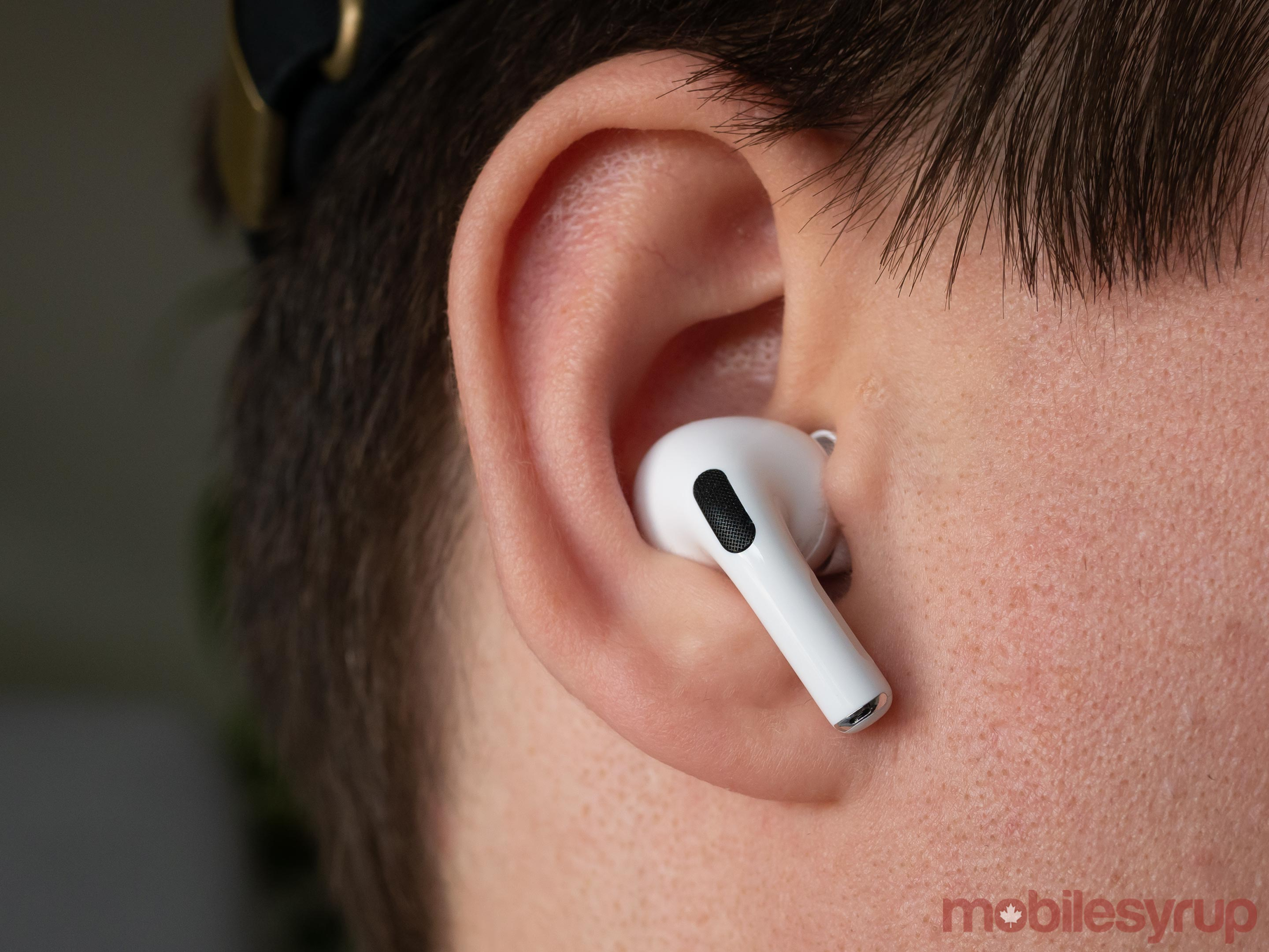 AirPods Pro angled in-ear
