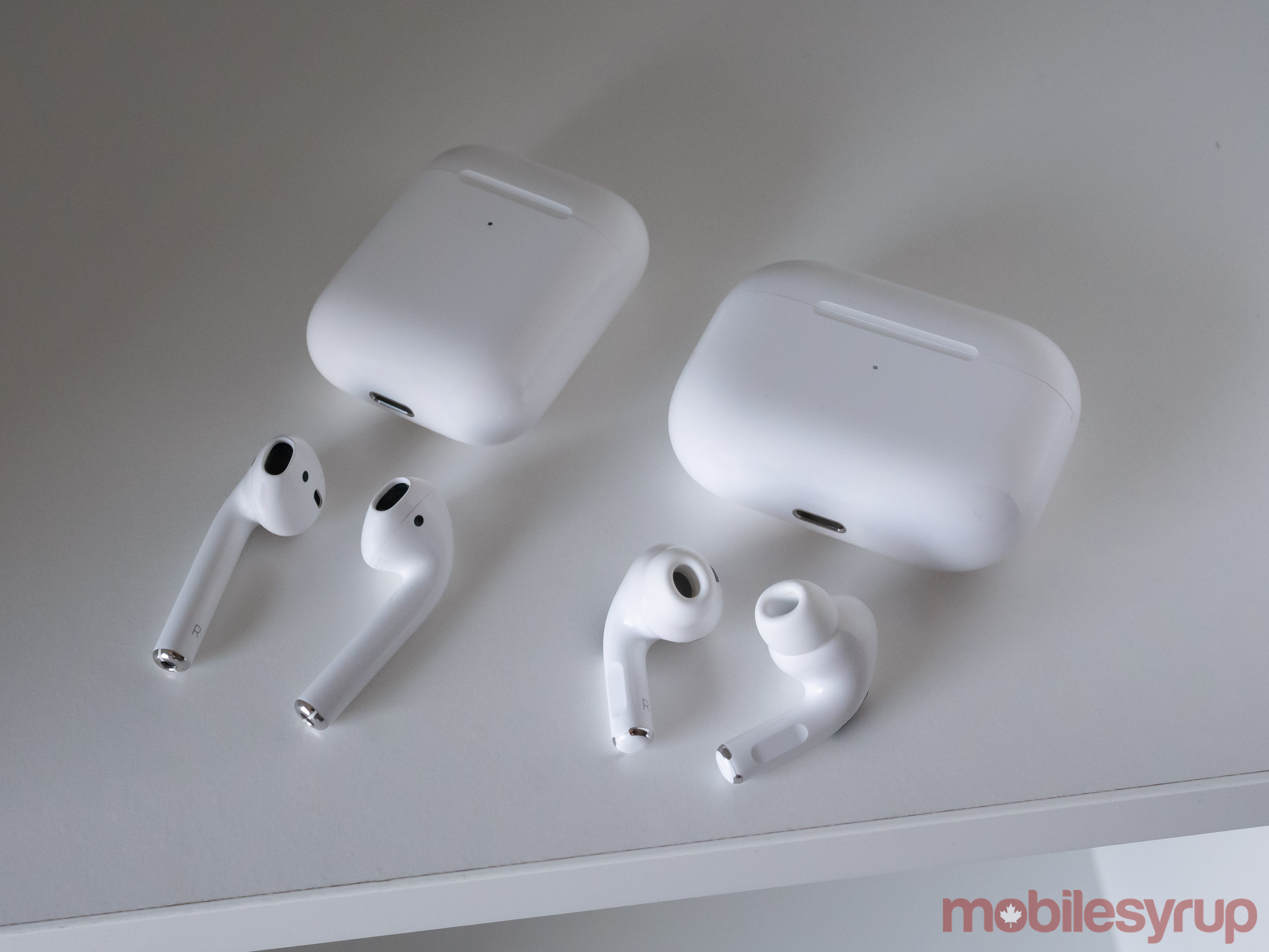 AirPods Pro vs 2nd-gen AirPods