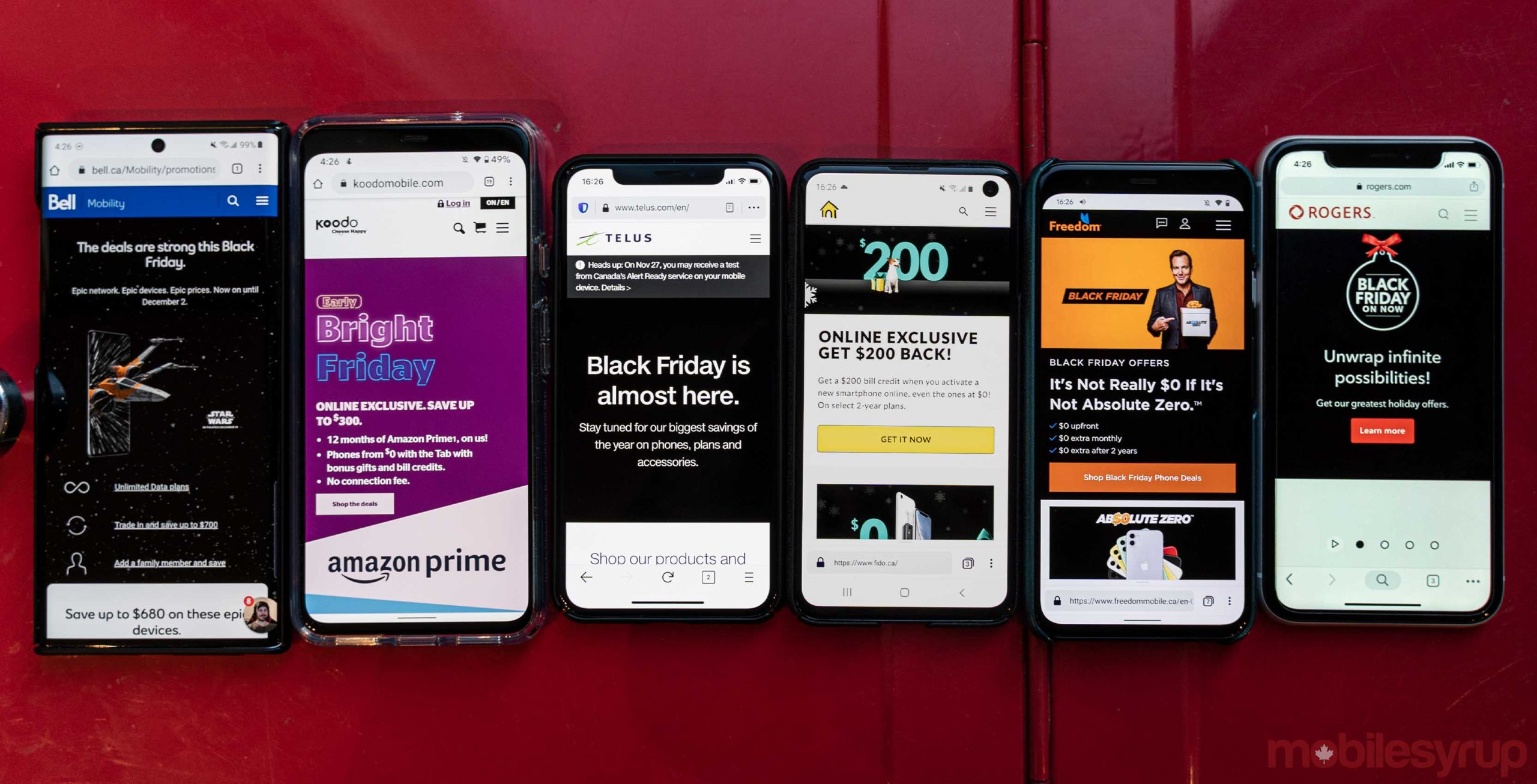Here S A Round Up Of Canadian Carrier 2019 Black Friday Deals