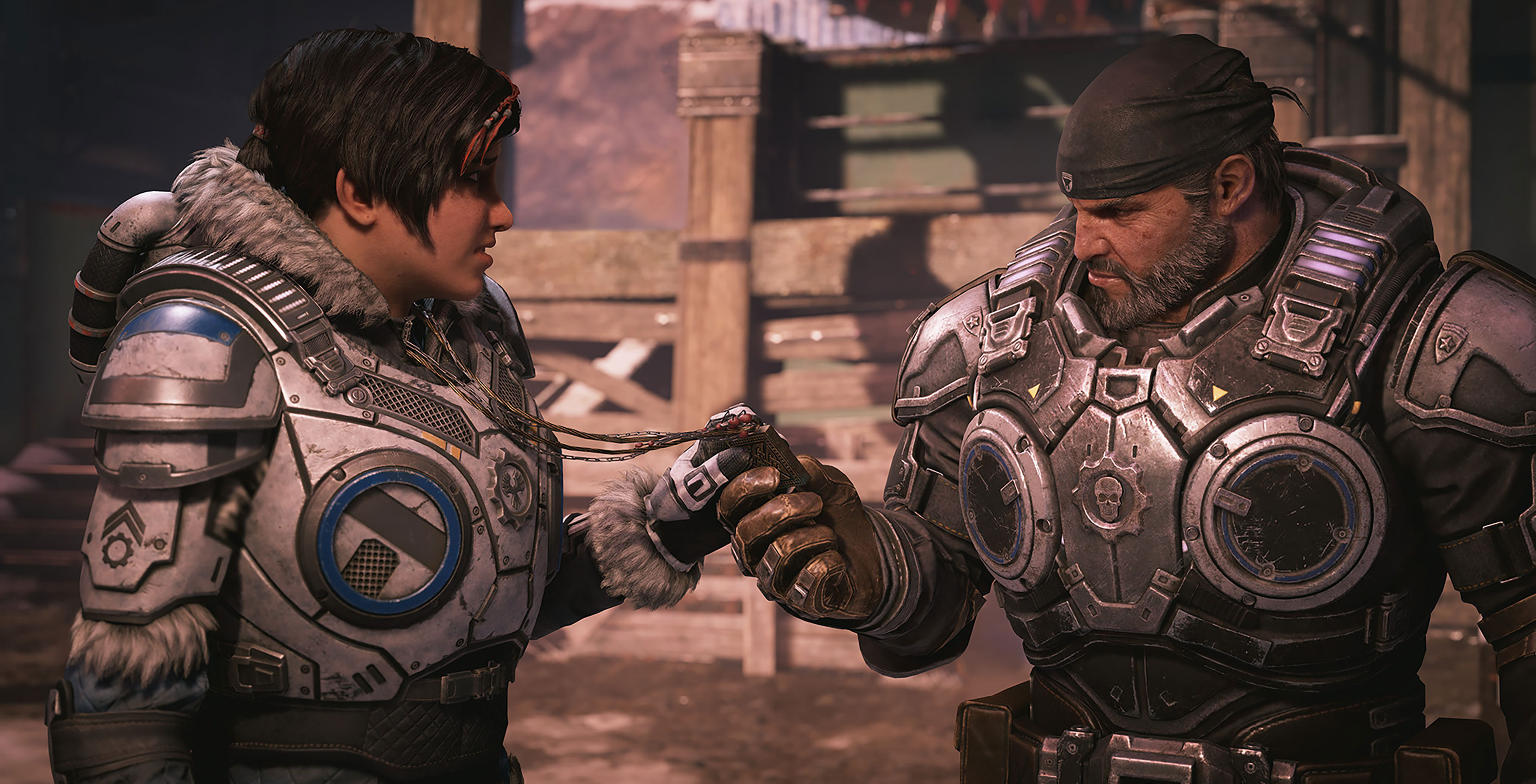 Gears 5 Kait and Marcus