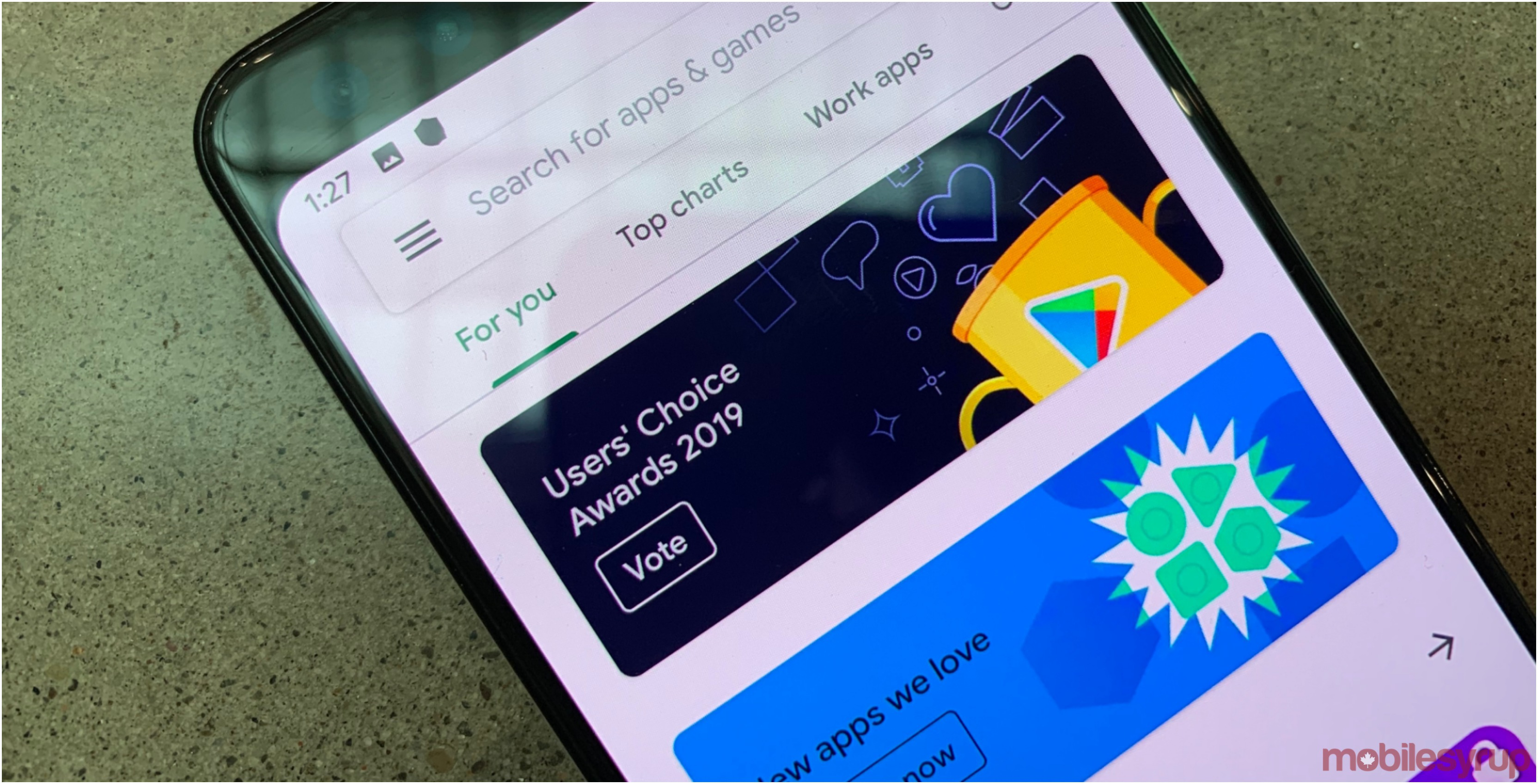 Voting for Google Play Users' Choice 2019 Awards is now open