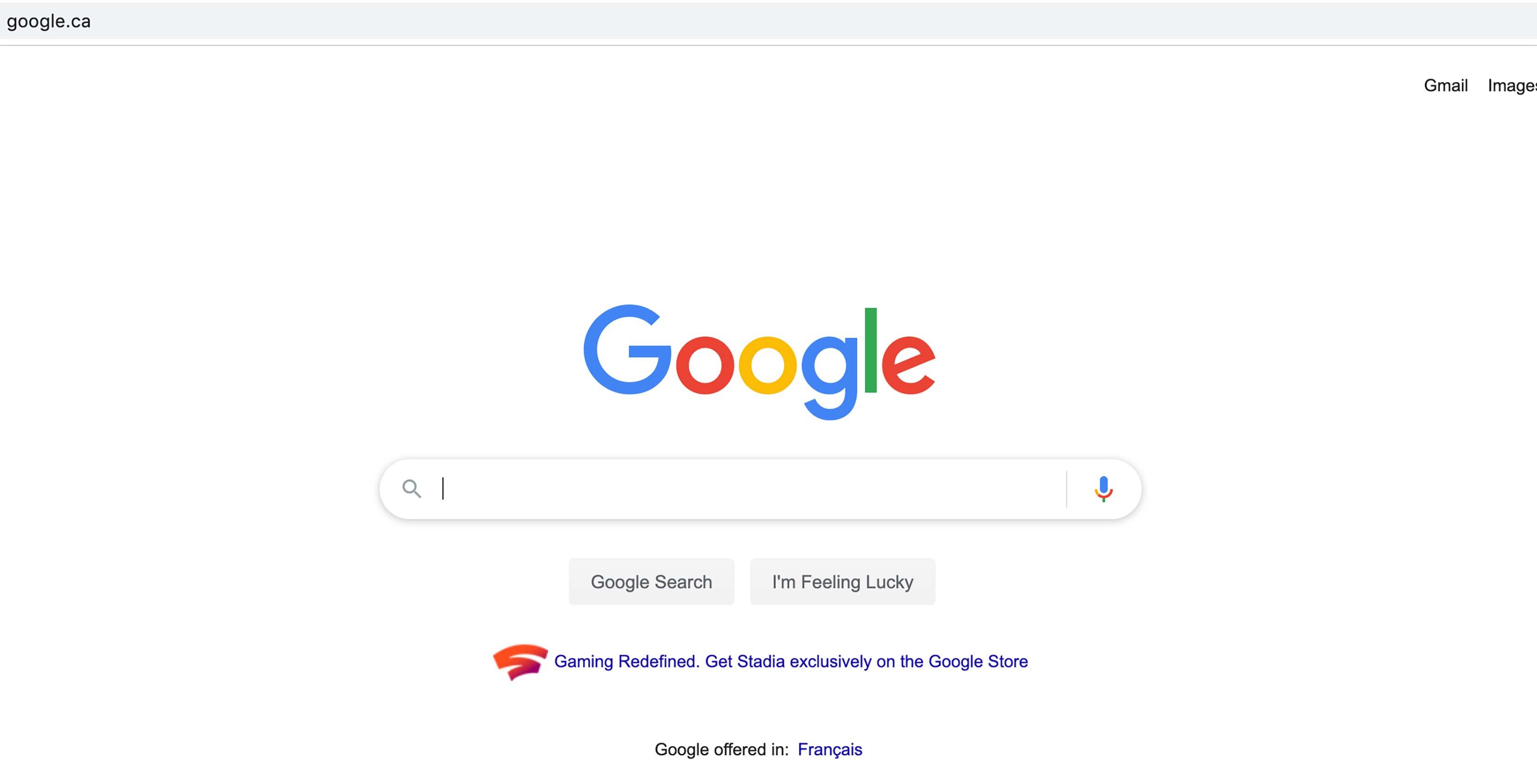 Google Search Stadia