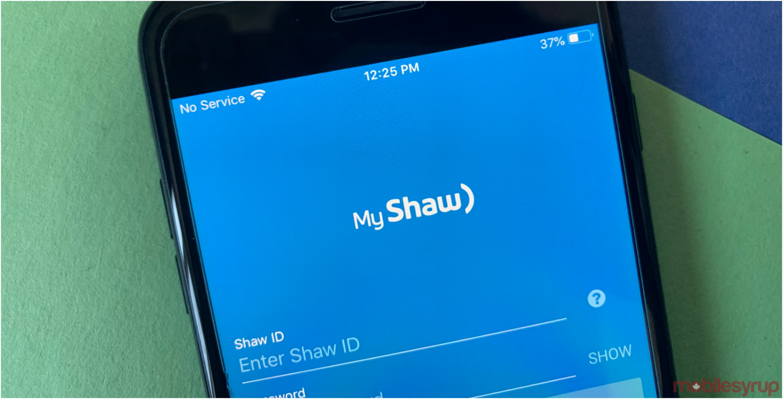 shaw mobile