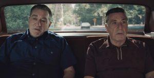 The Irishman Robert DeNiro and Al Pacino