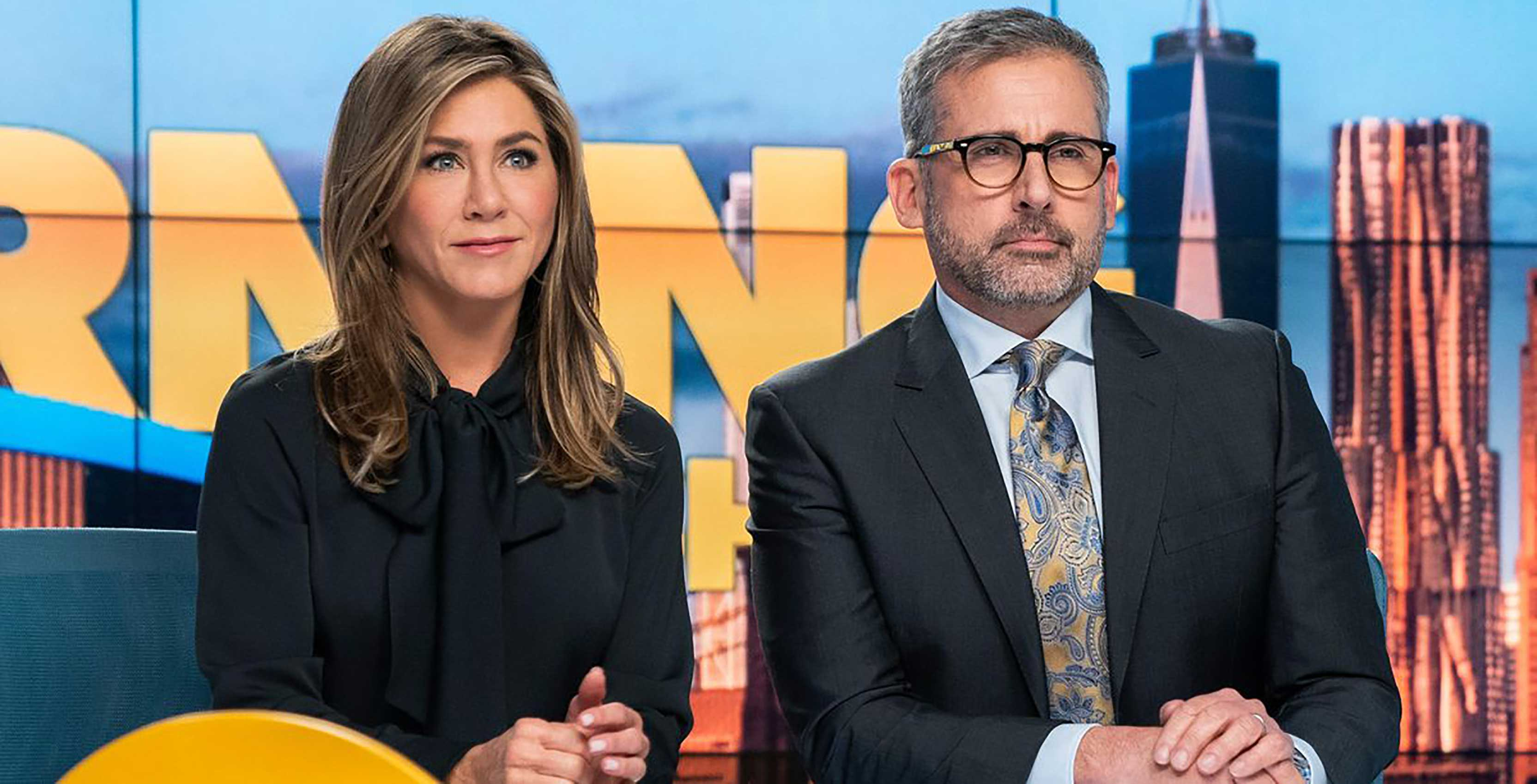 The Morning Show Jennifer Aniston and Steve Carrell