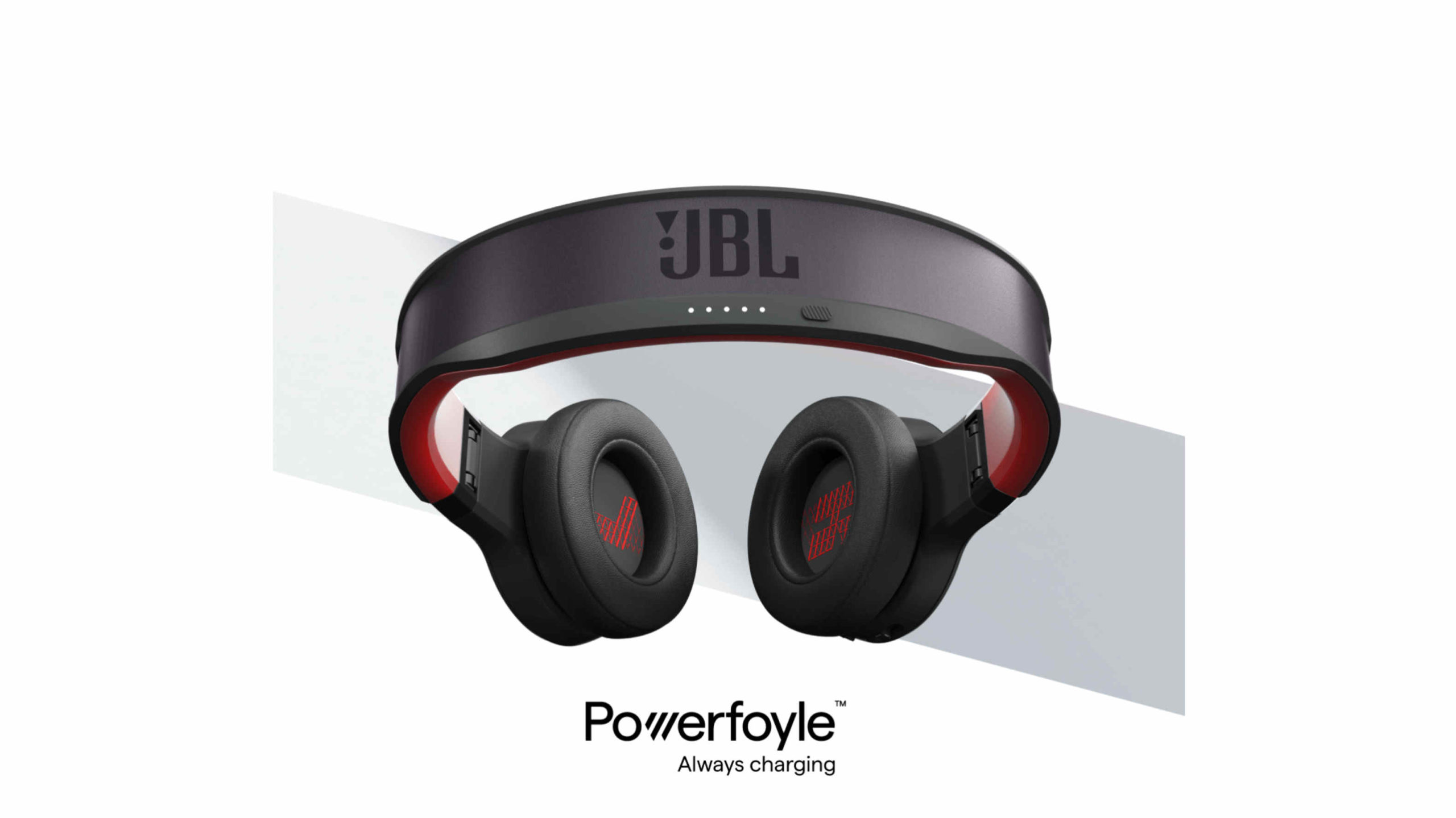 JBL working on headphones that charge with solar power