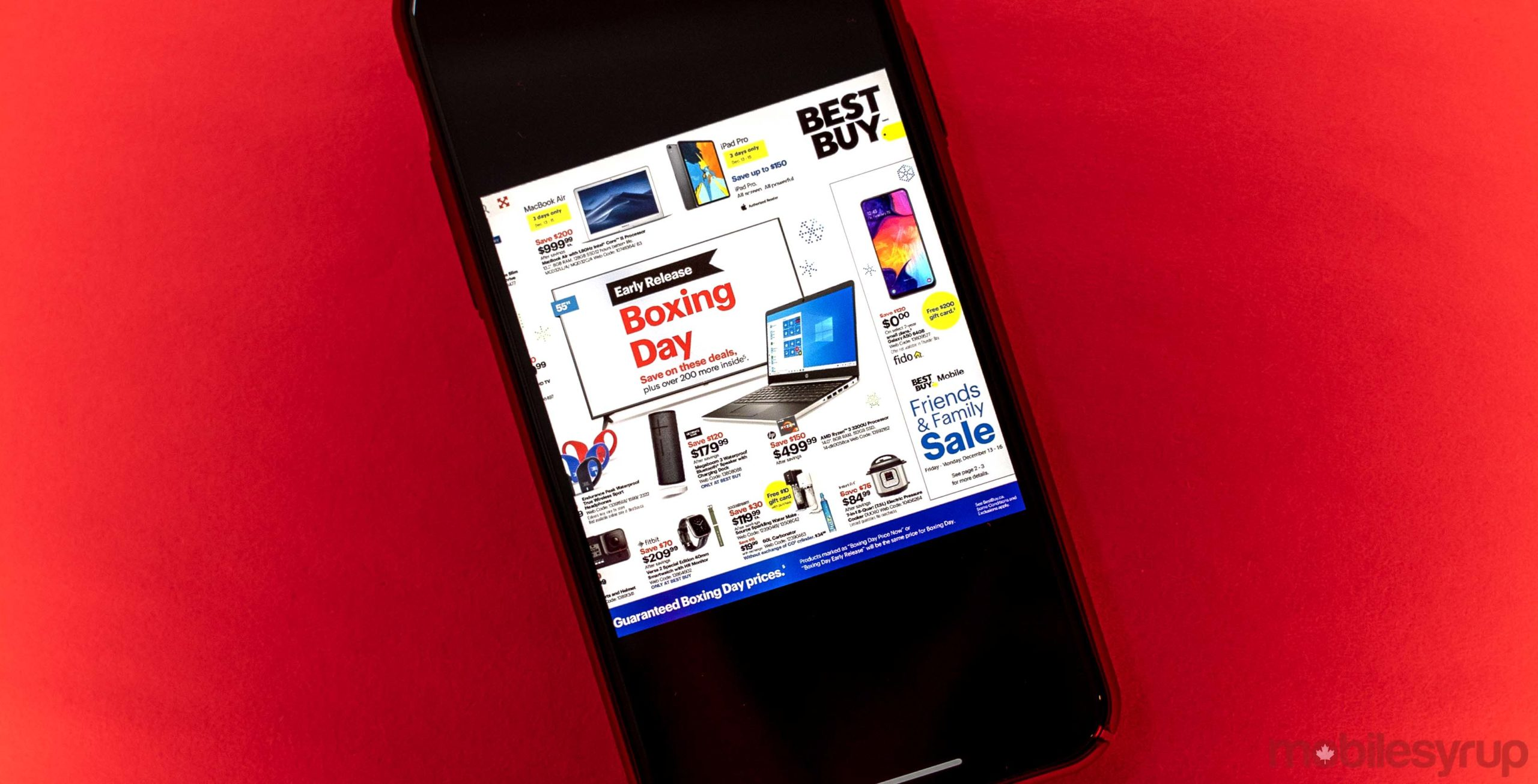 Best Buy Canada Unveils Boxing Day 2019 Tech Deals