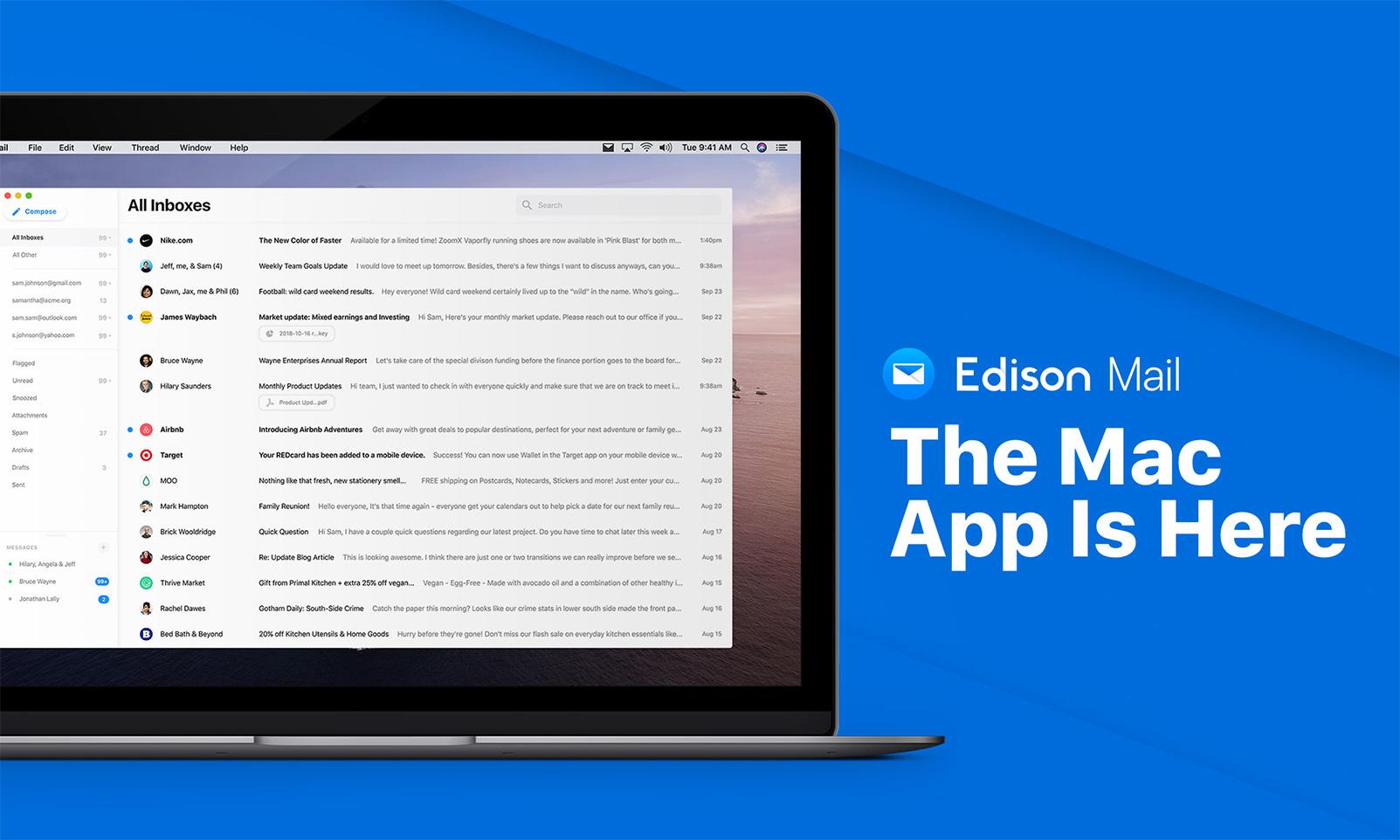 Edison Mail Mac app