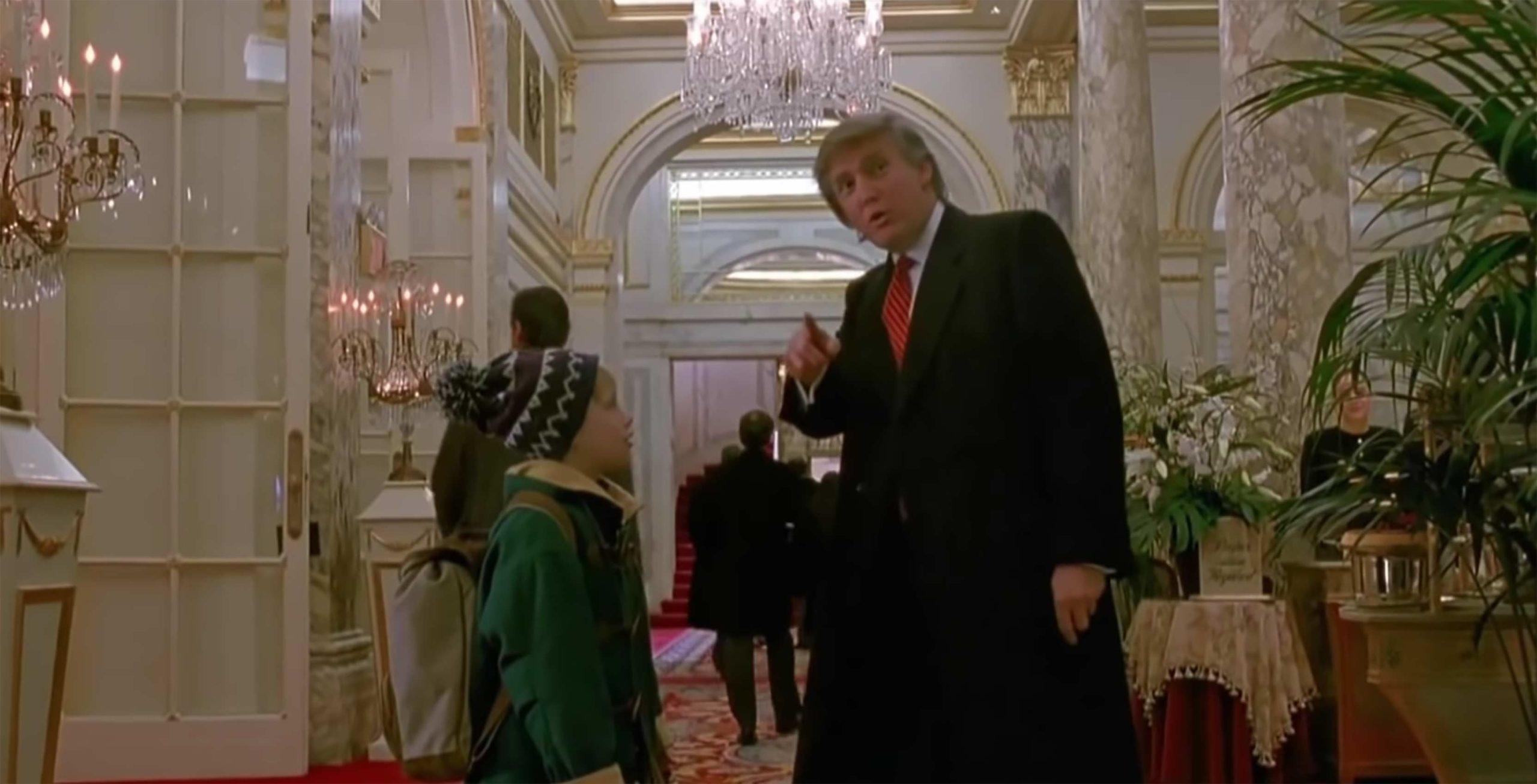 Home Alone 2 Donald Trump