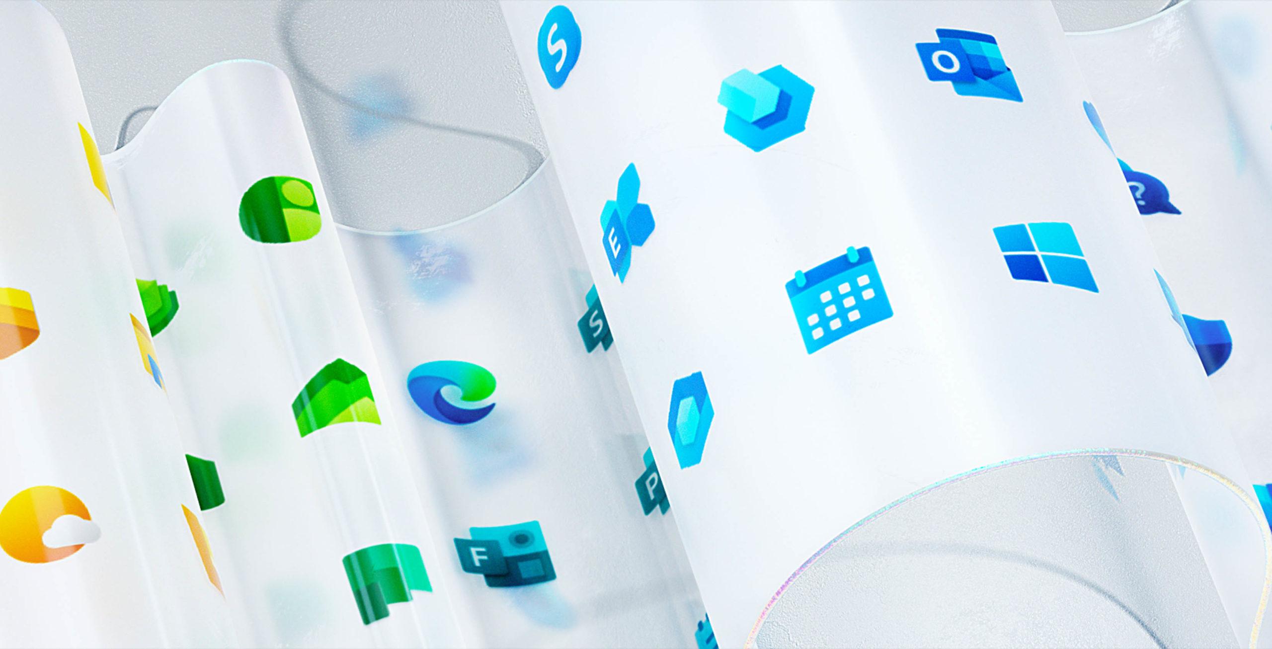 New Microsoft Windows icons