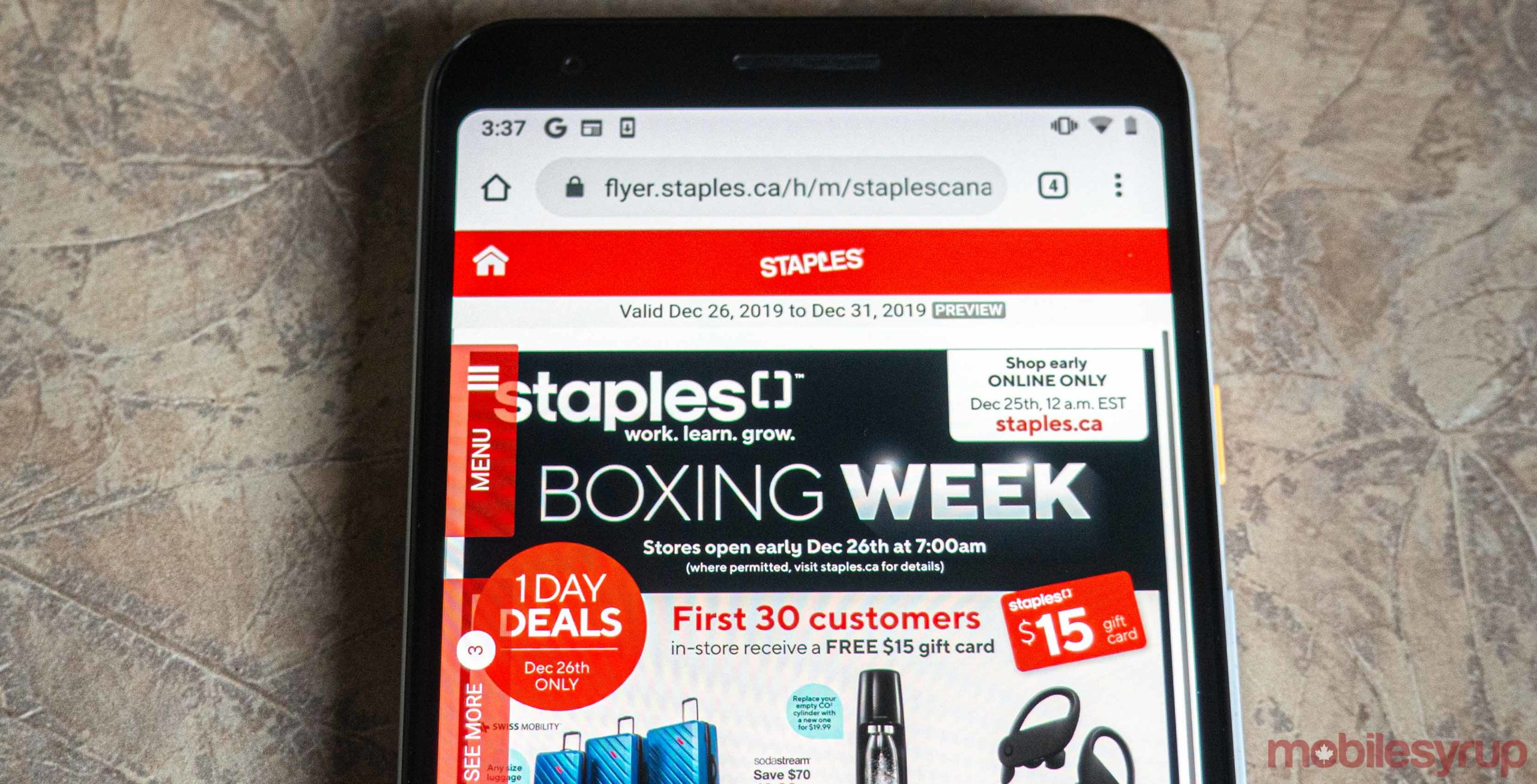 Staples Canada Boxing Week 2019