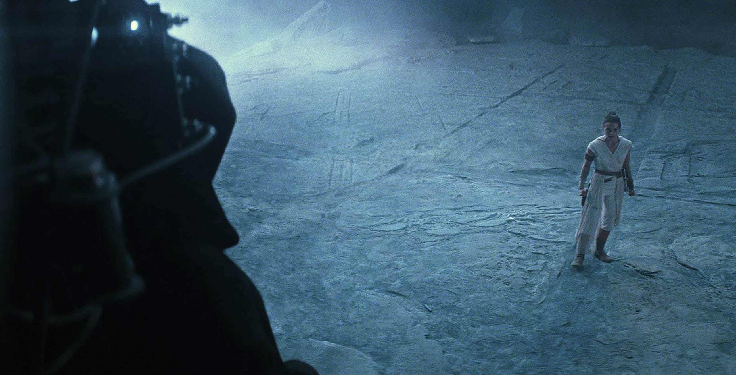 Star Wars: Rise of Skywalker Rey faces Palpatine