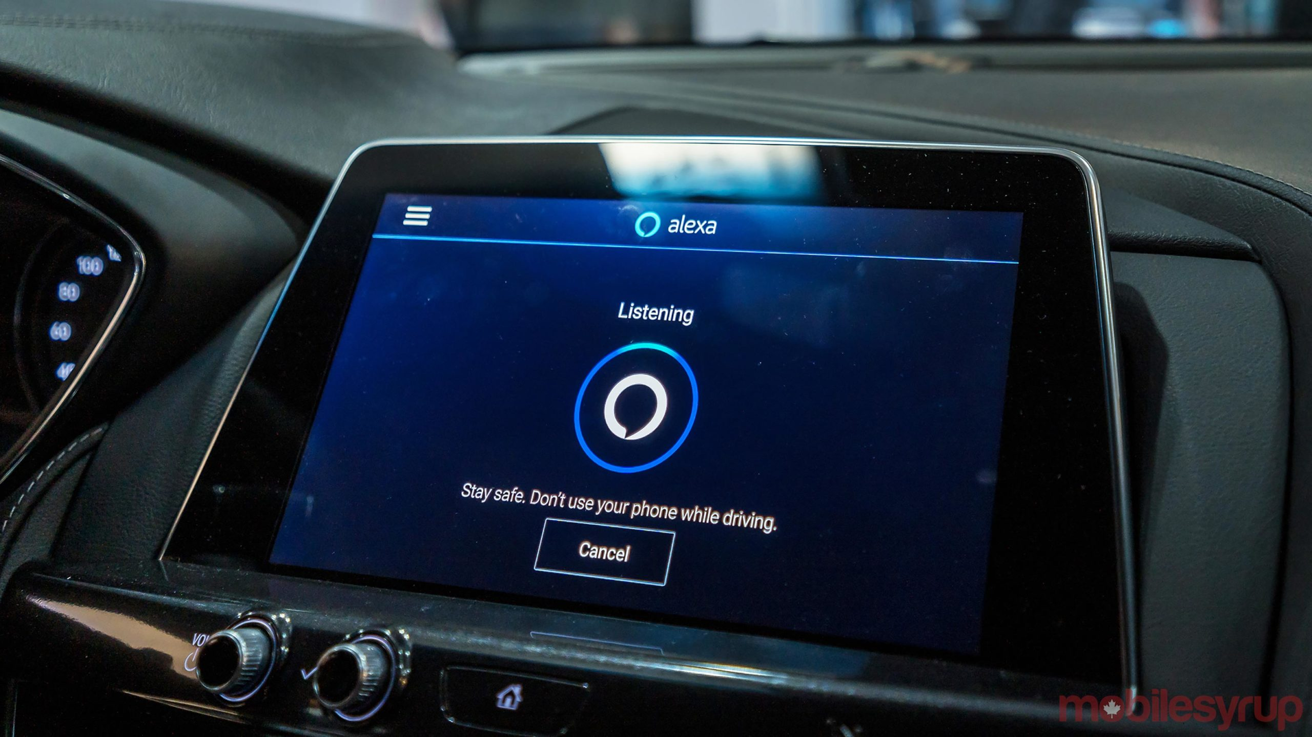Here's what Alexa will be like when embedded in Canadian cars