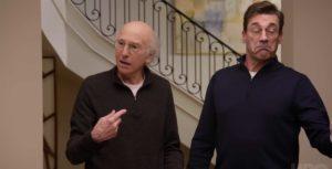 Curb Your Enthusiasm Larry David and Jon Hamm