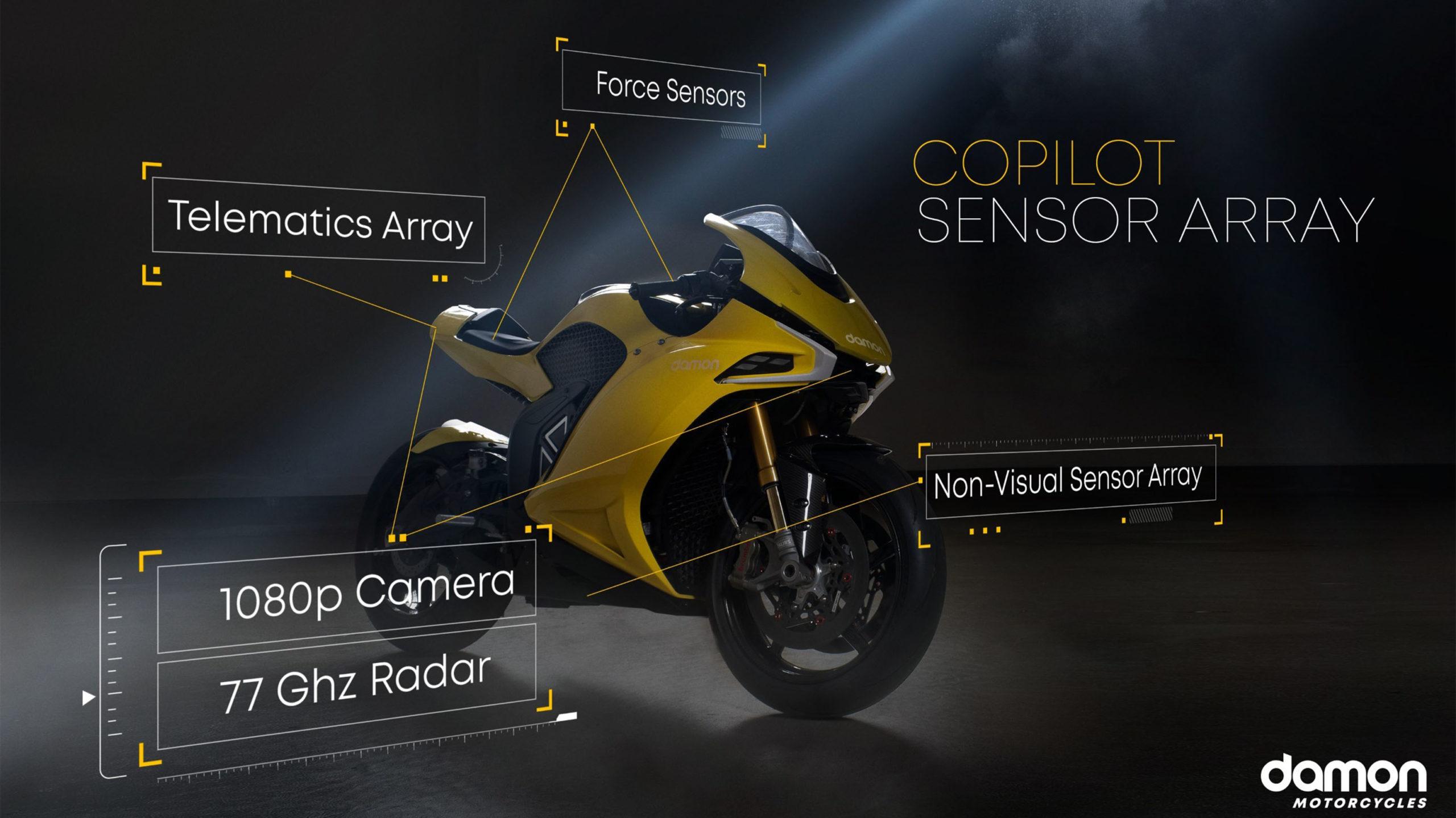 Damon Motorcycles Hypersport Pro