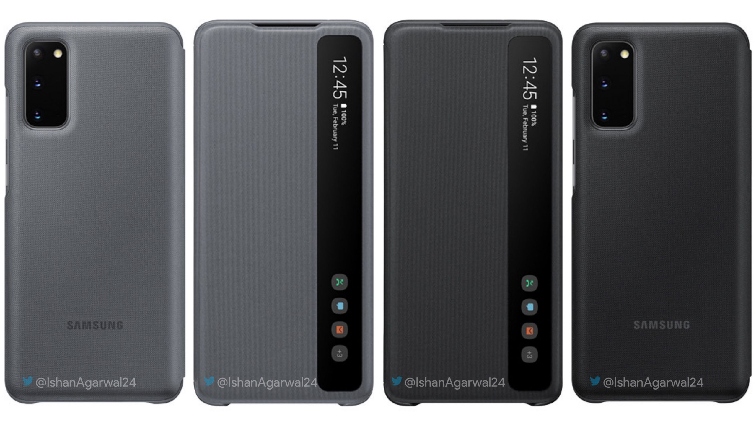 Check out these leaked Samsung Galaxy S20 series case renders