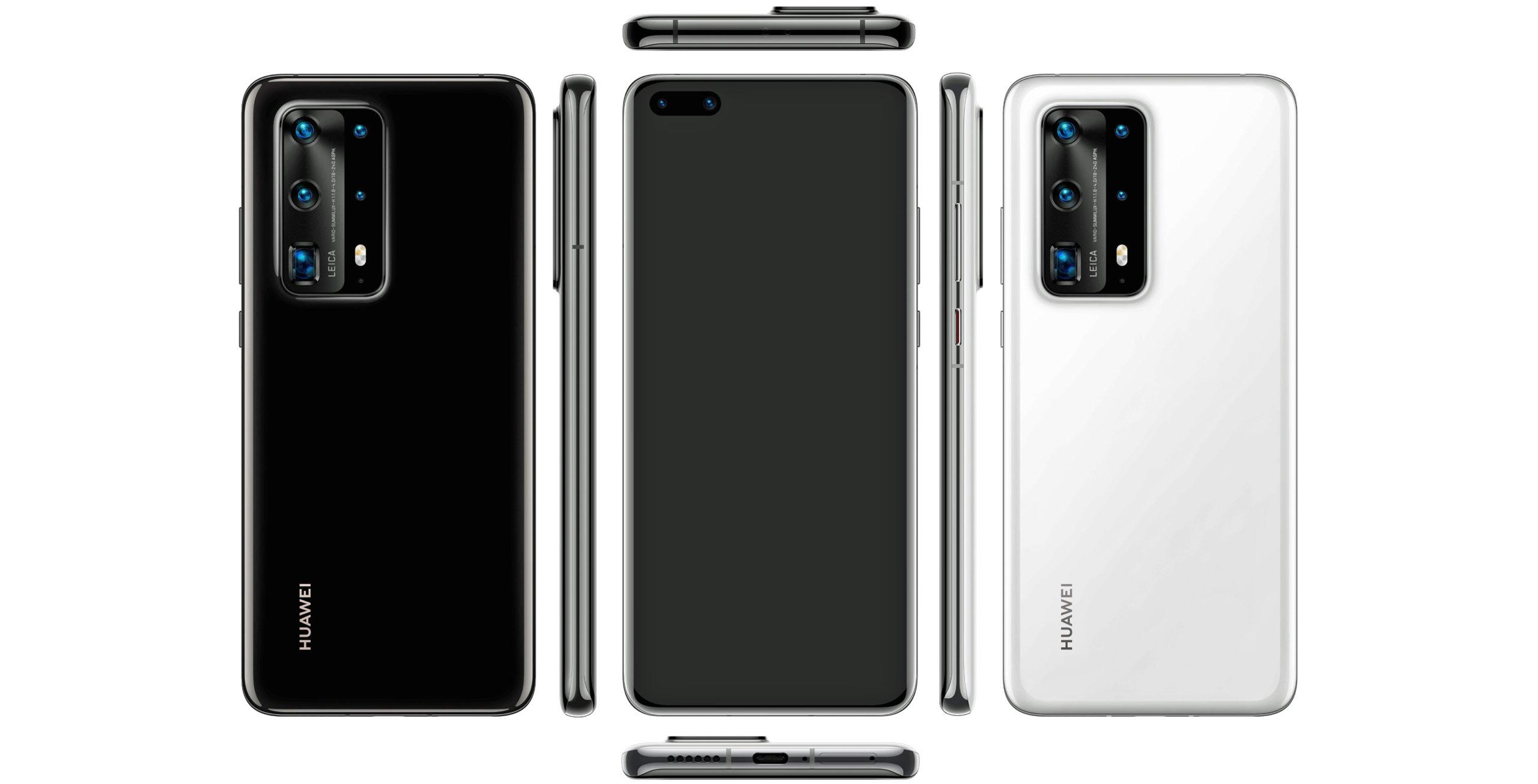 Leaked Huawei P40 Pro ceramic variant renders surface online