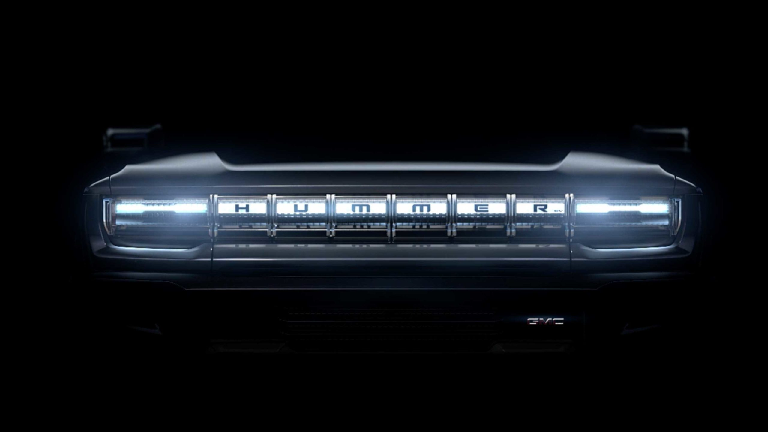 GM has started teasing its all-electric Hummer branded truck