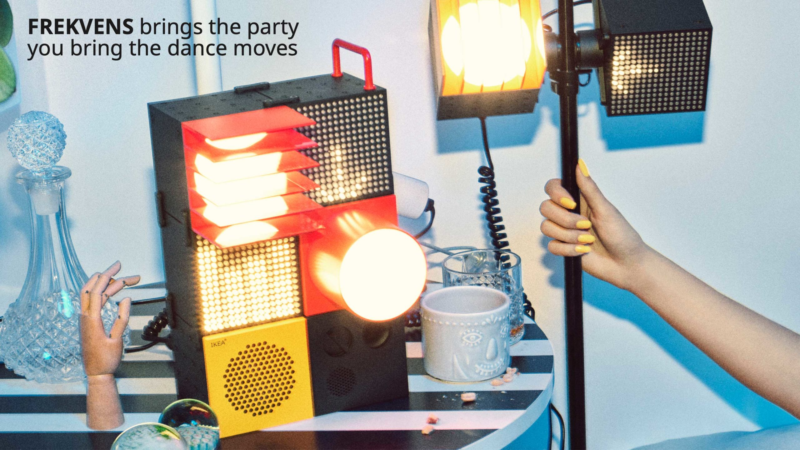 Ikea collaborates with Teenage Engineering on speakers and