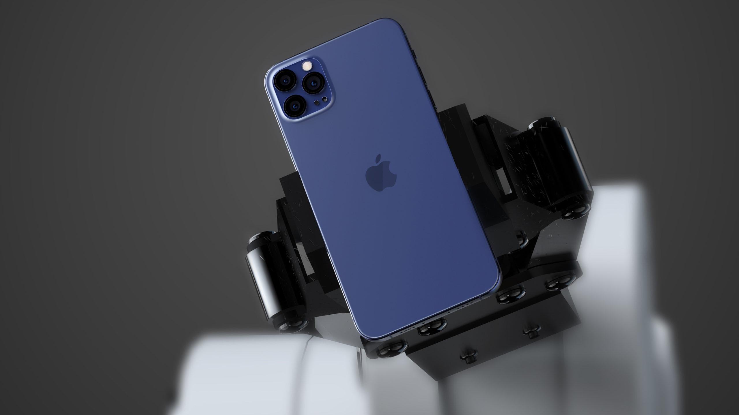 iPhone 12 Navy Blue leak