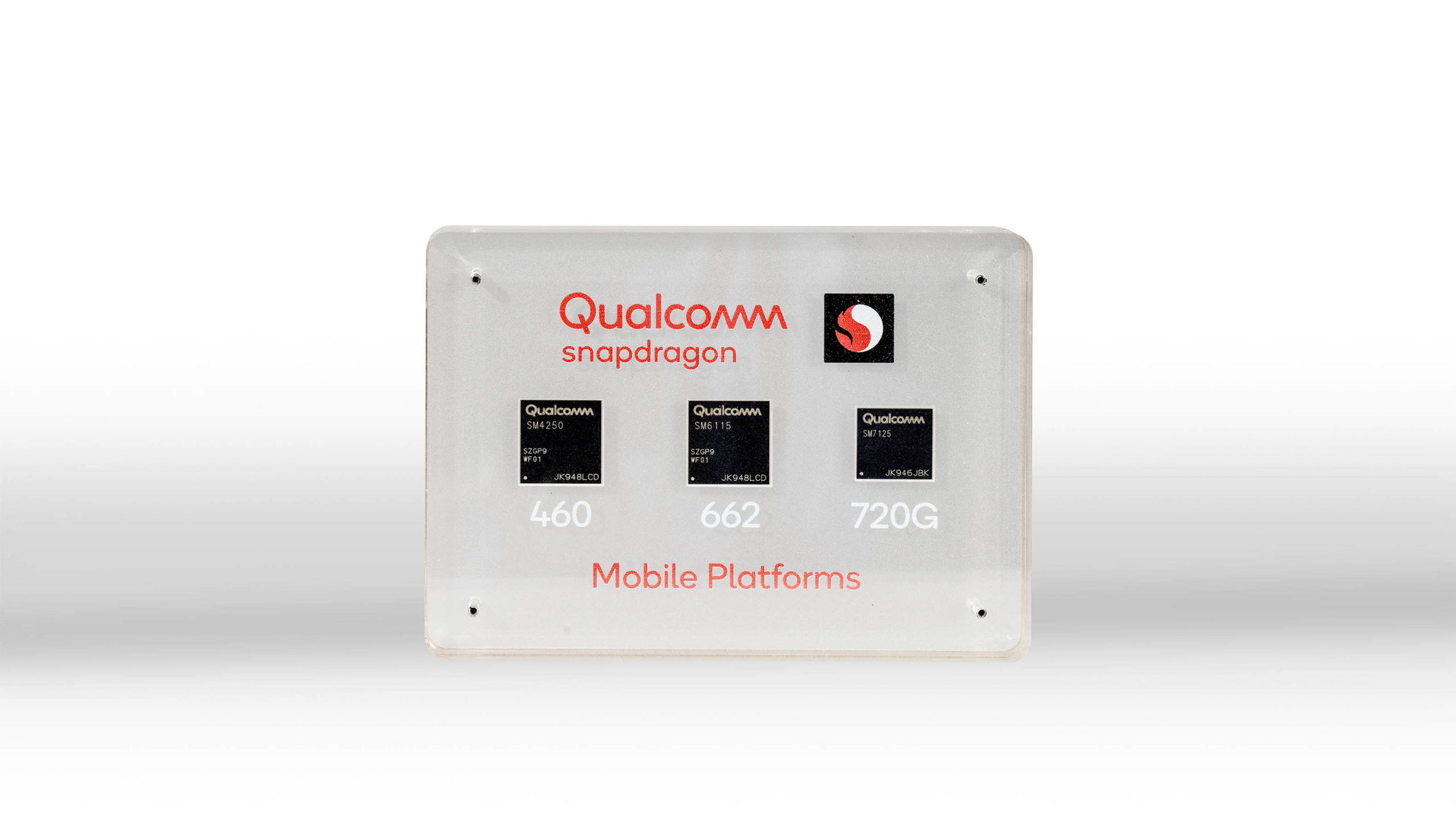Qualcomm Snapdragon 720G, 662 and 460