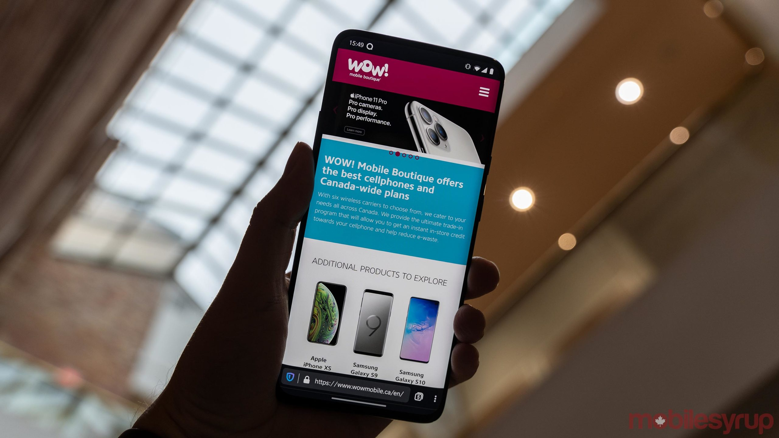 Wow Mobile to shut down multiple locations across Canada