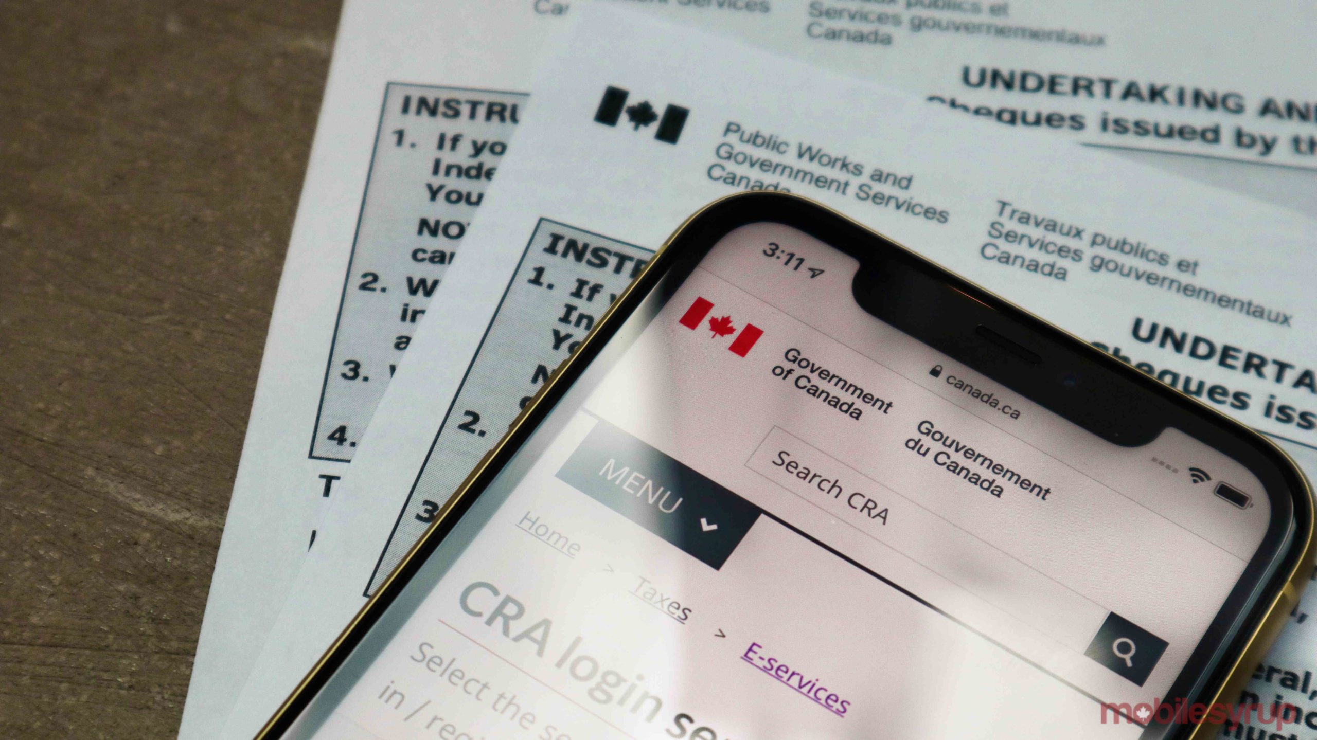 Find Your Uncashed Cheques From The Government On The Cra S Website