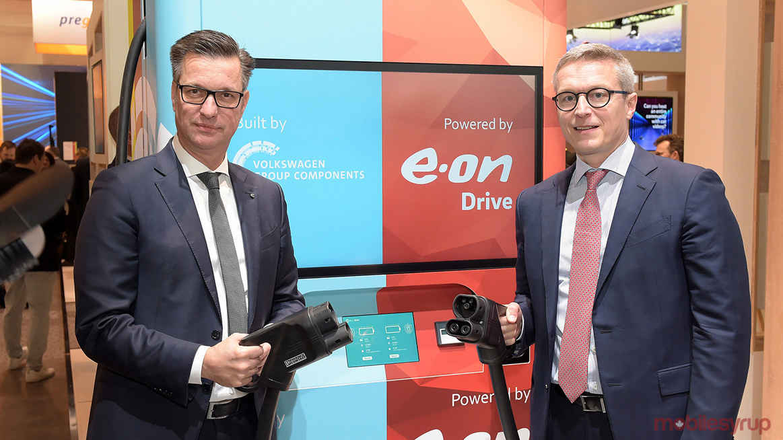VW charger EON header