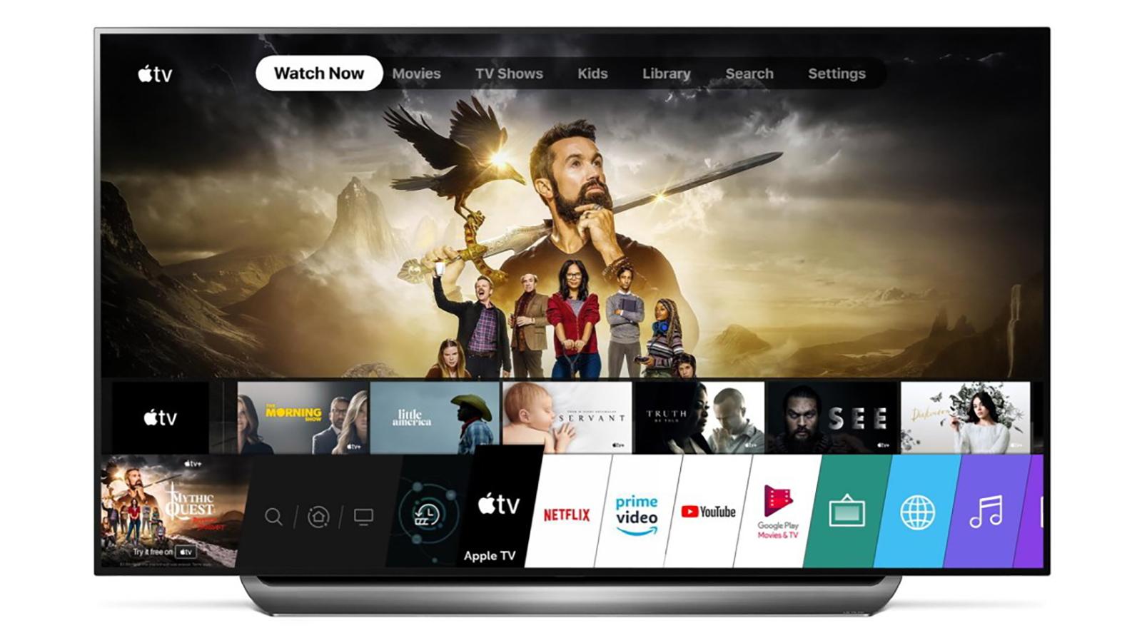 LG Apple TV+