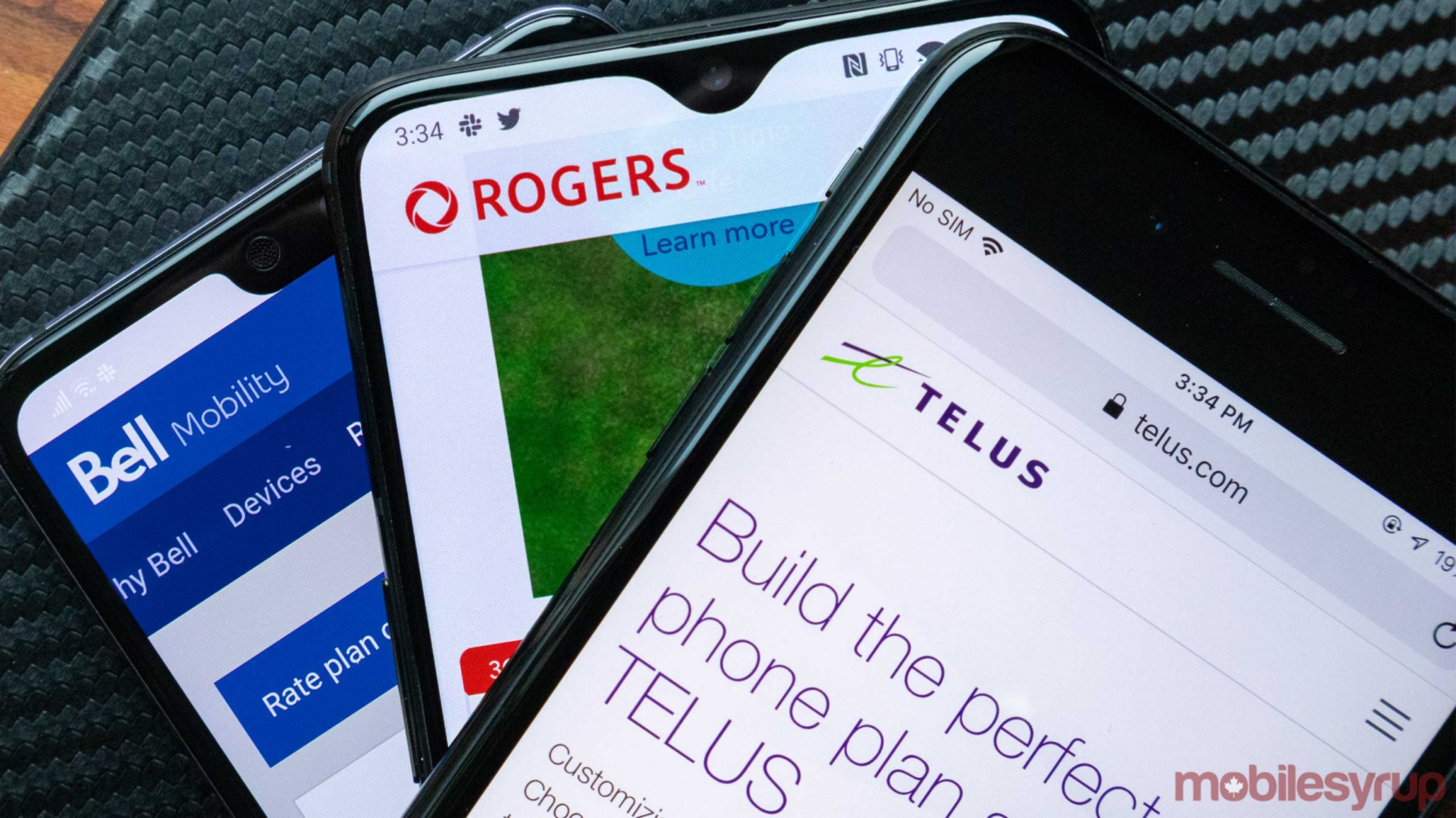 Here are the changes to Canadian carrier rate plans this week