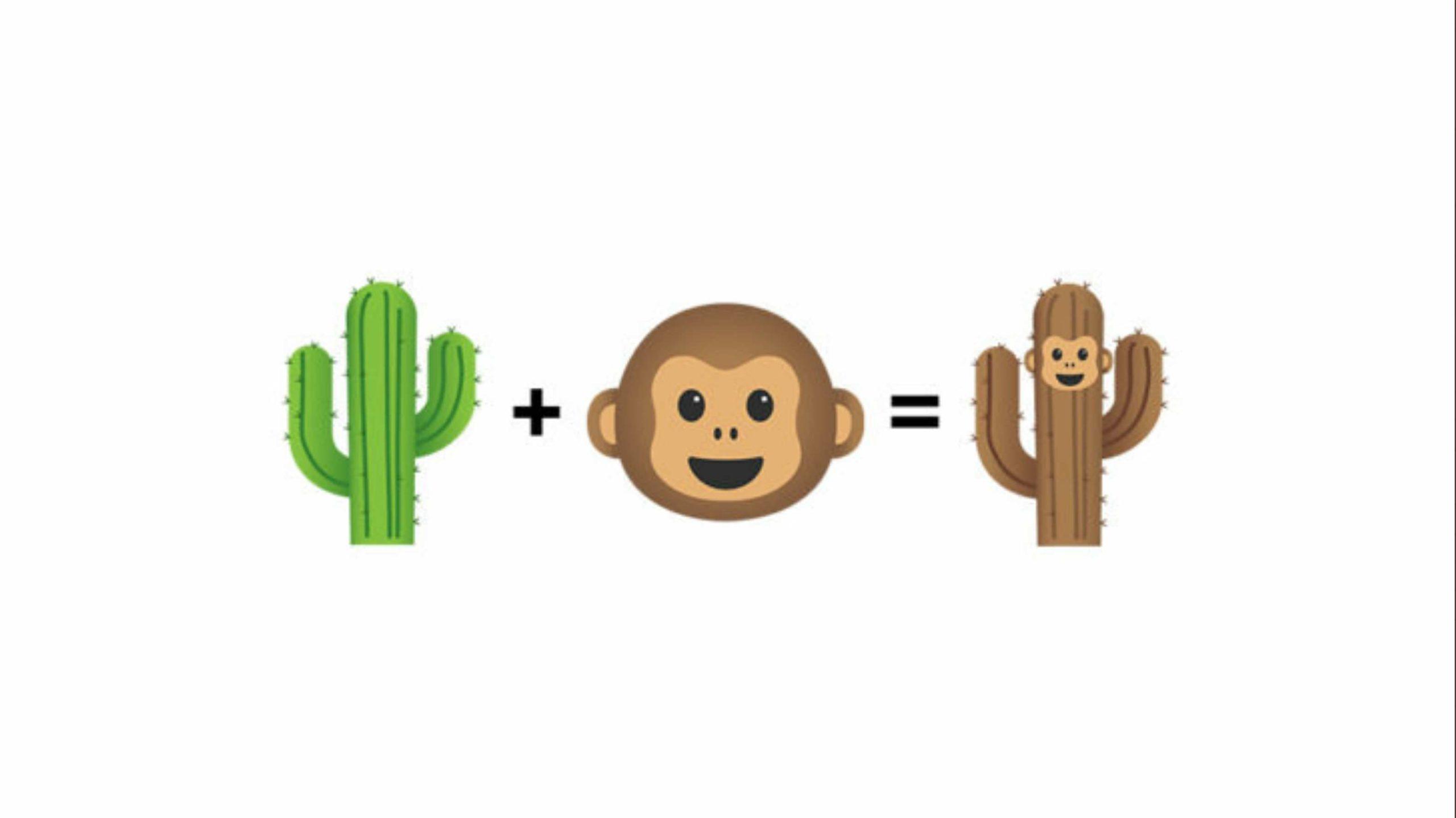 Gboard cactus monkey