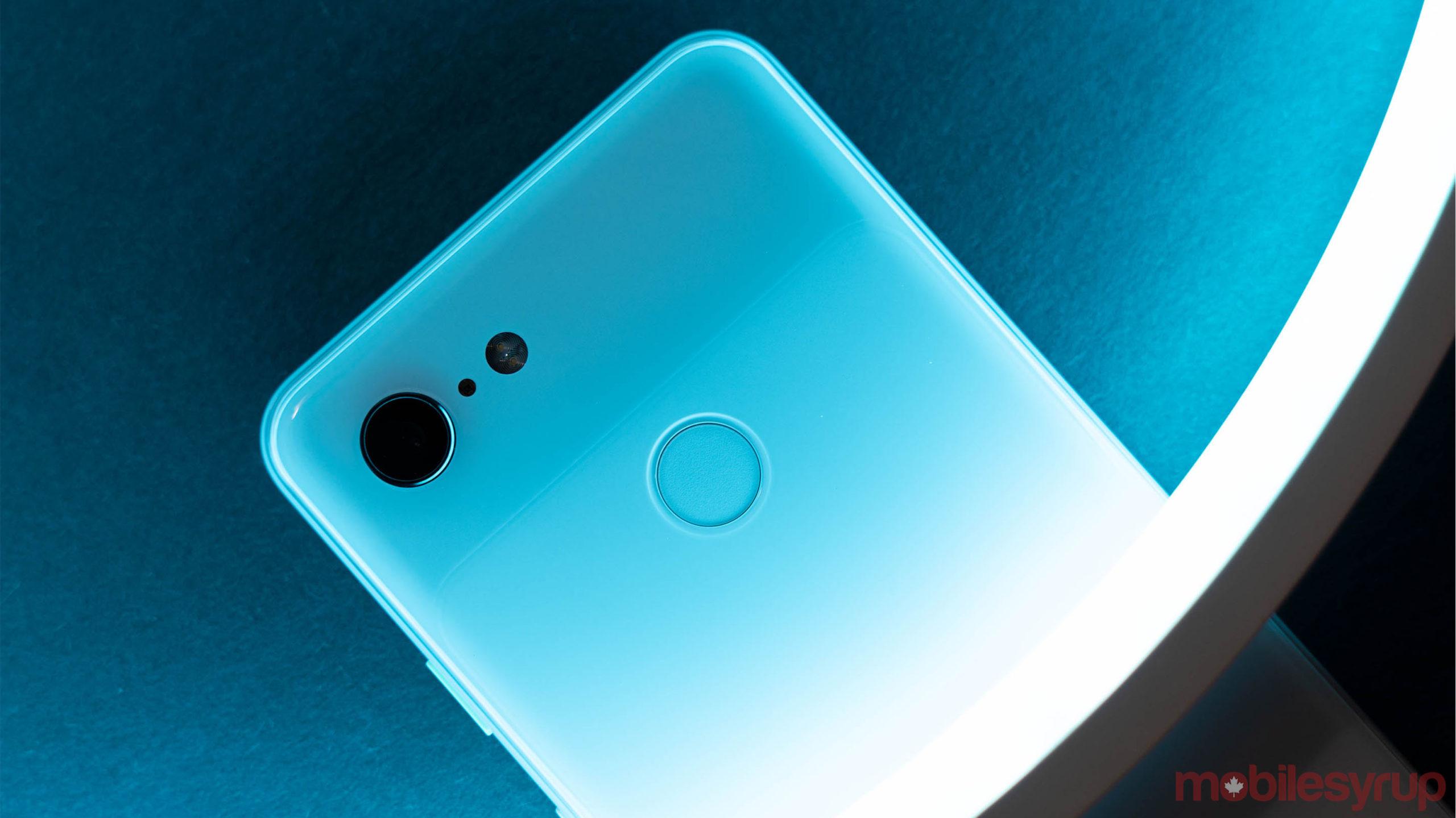 Pixel 3 fingerprint sensor