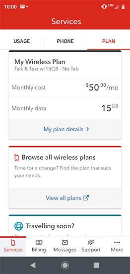 Rogers $50/15GB plan