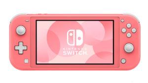 Switch Lite pink