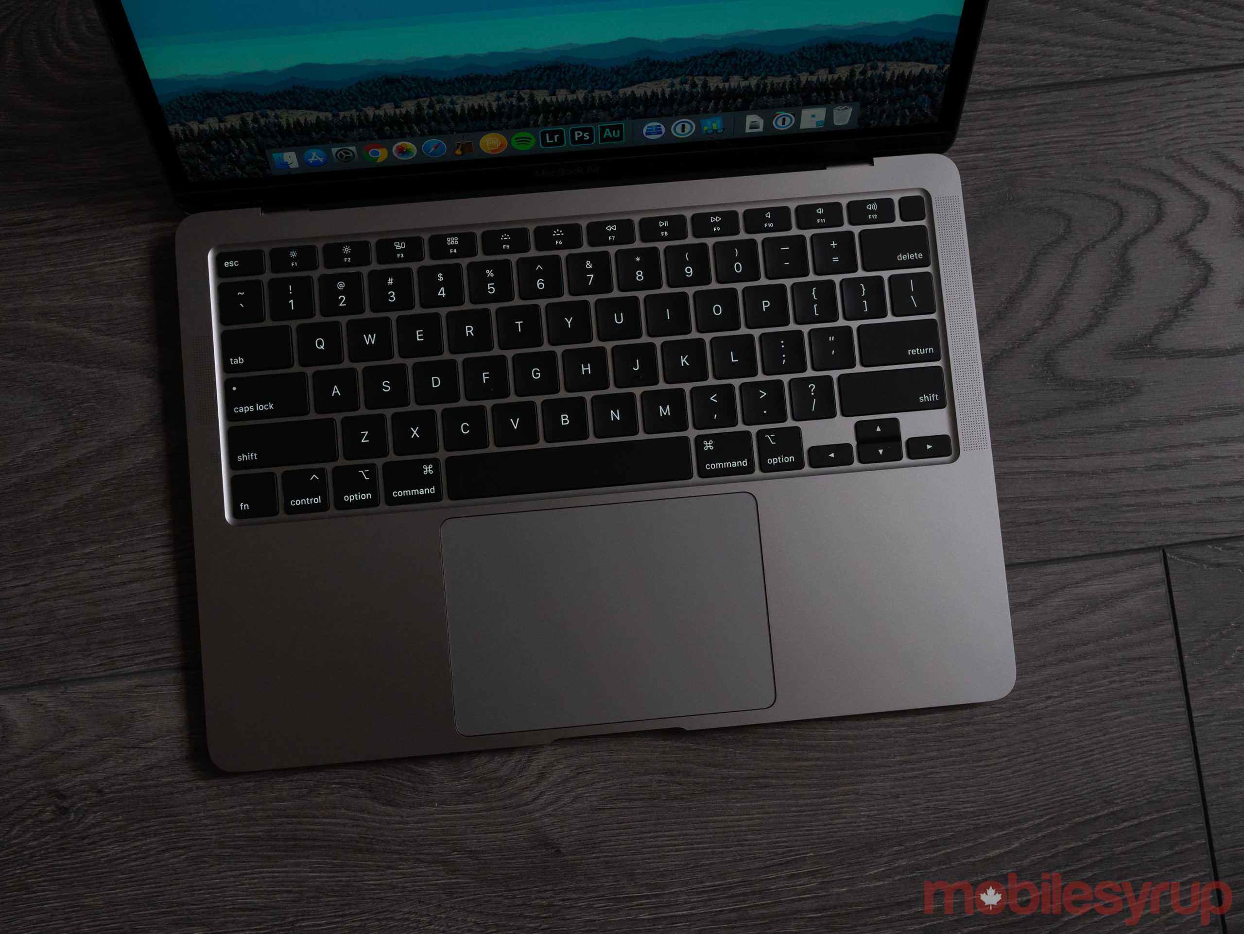 2020 MacBook Air keyboard
