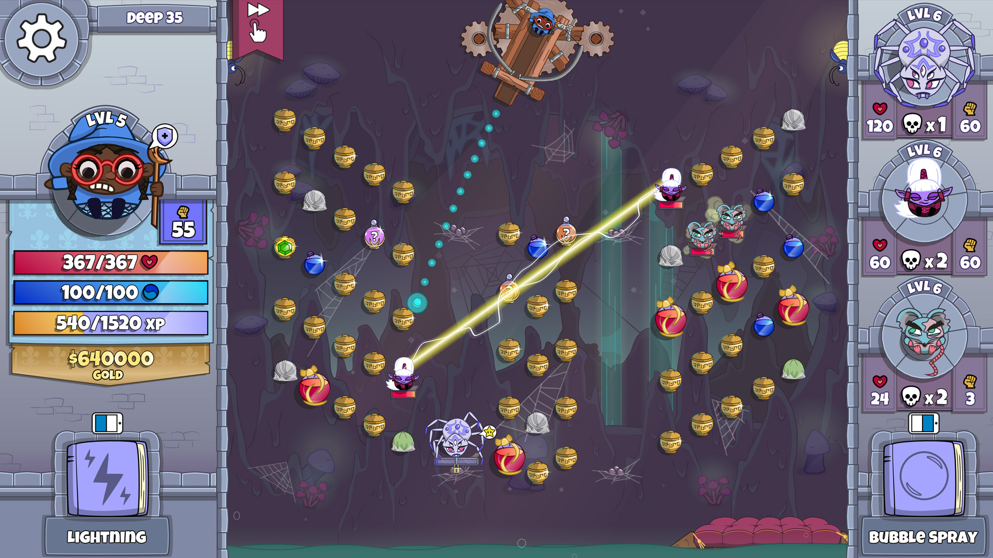 Peggle-like dungeon crawler 'Roundguard' is now available on Apple Arcade