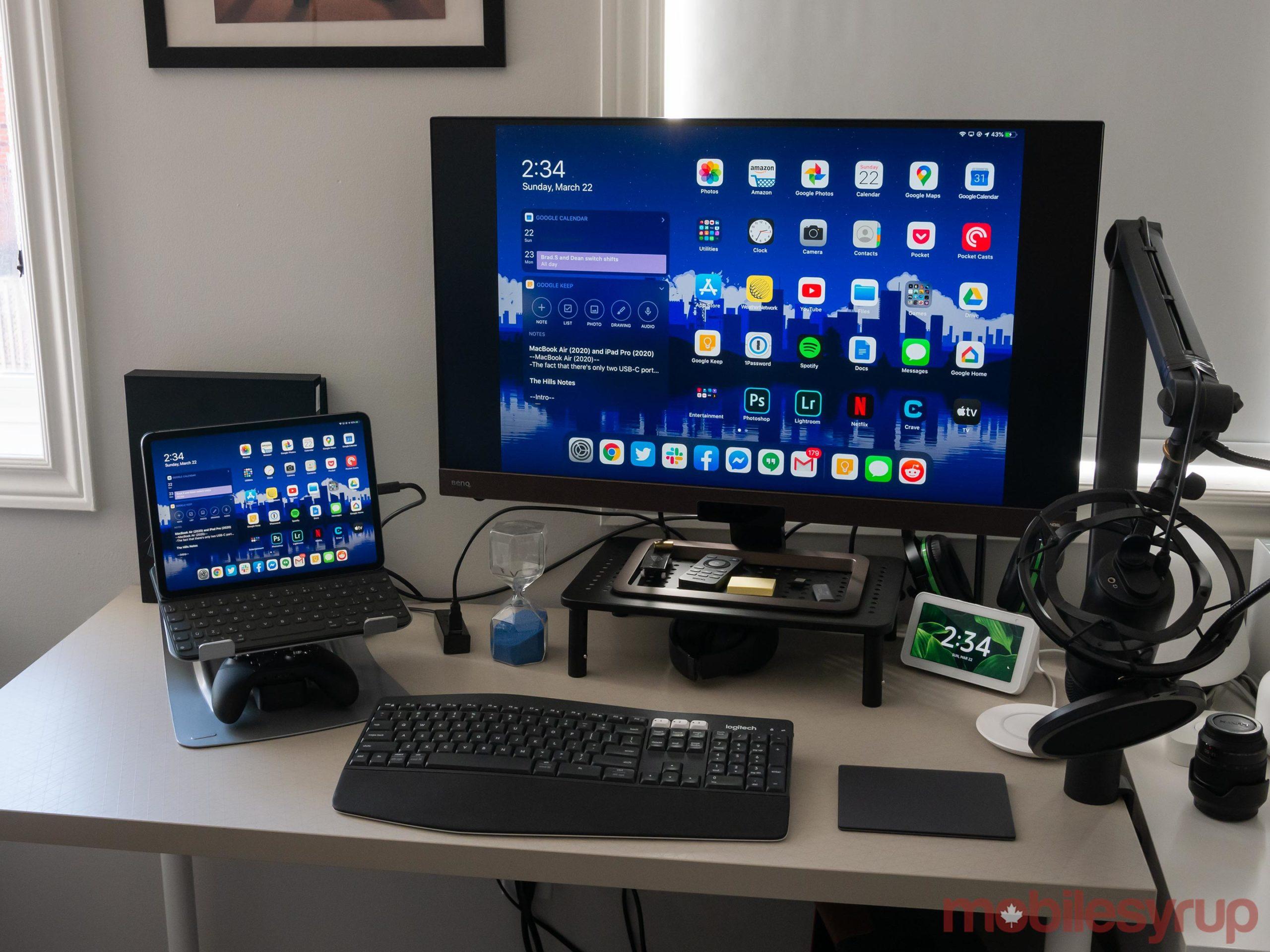 iPad Pro 2020 desktop