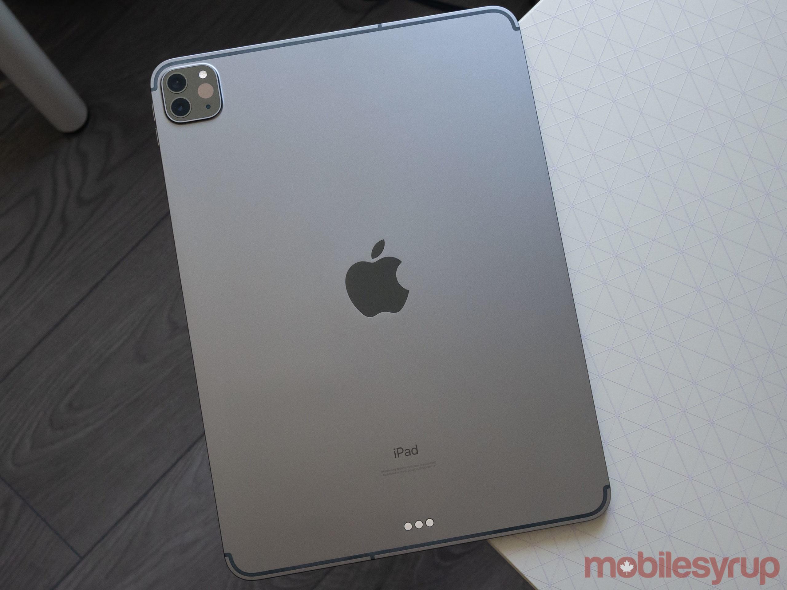 iPad Pro 2020 back