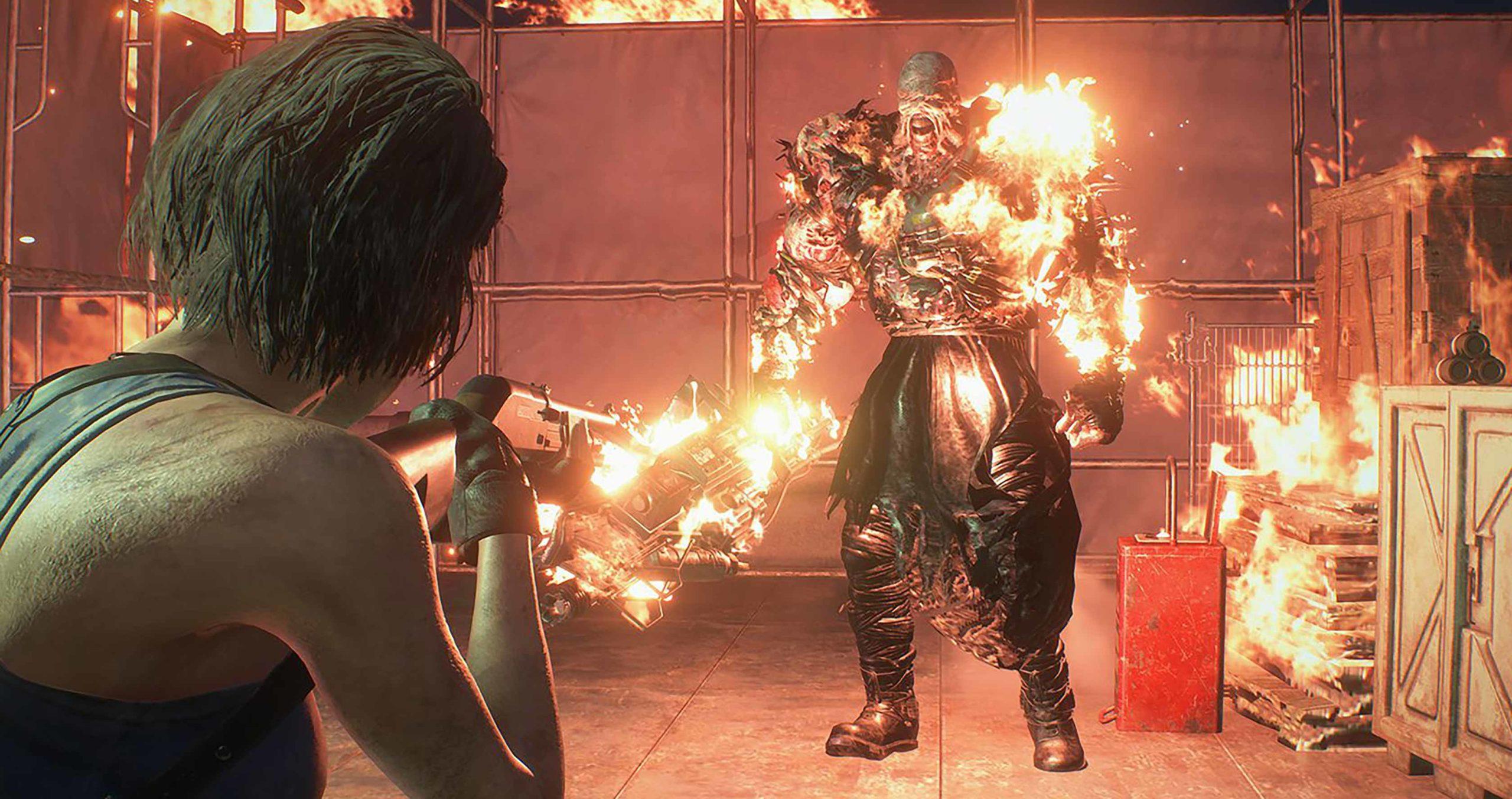 Resident Evil 3 Jill vs. Nemesis
