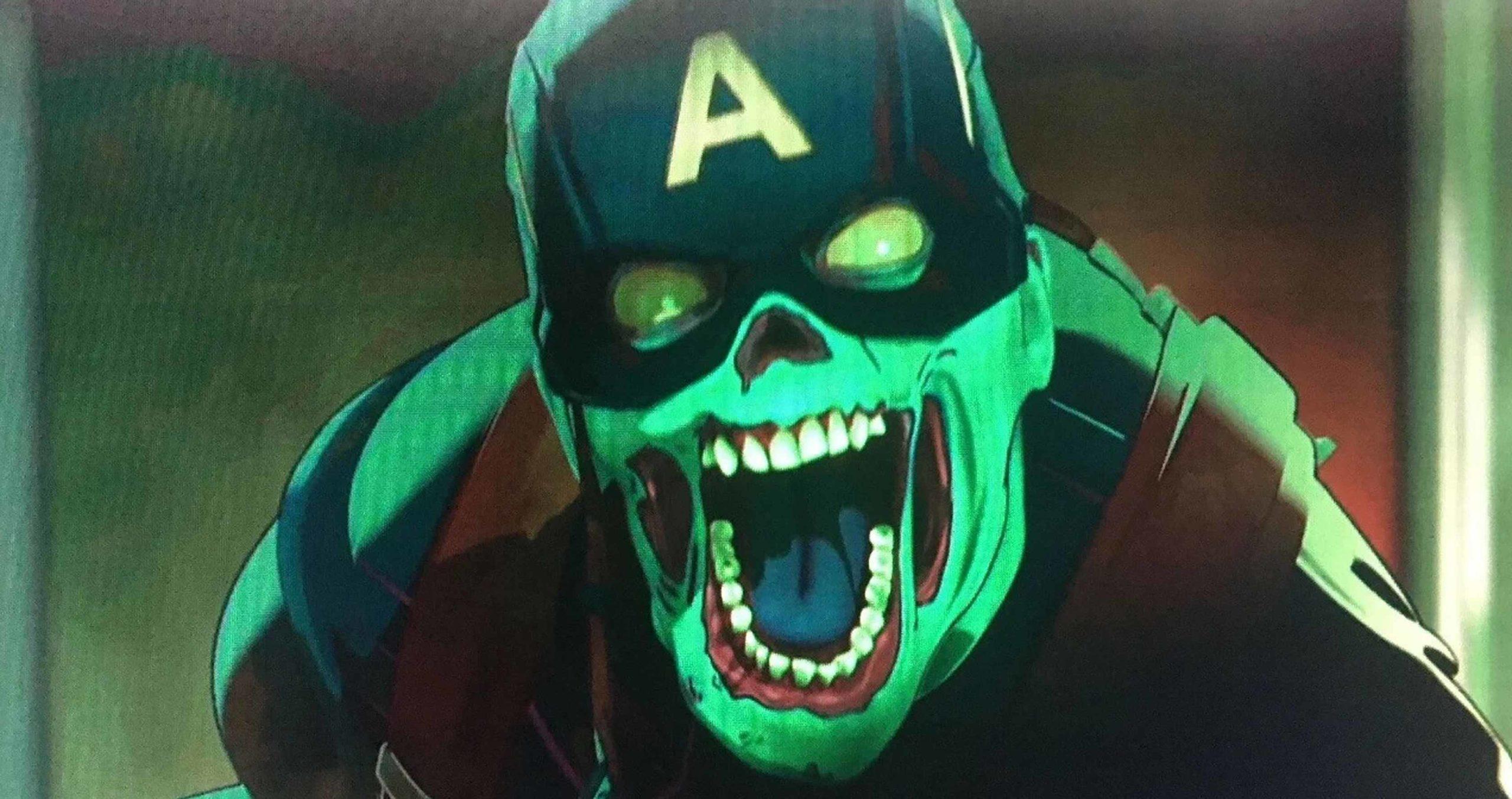 Marvel Studios What If? Zombie Captain America