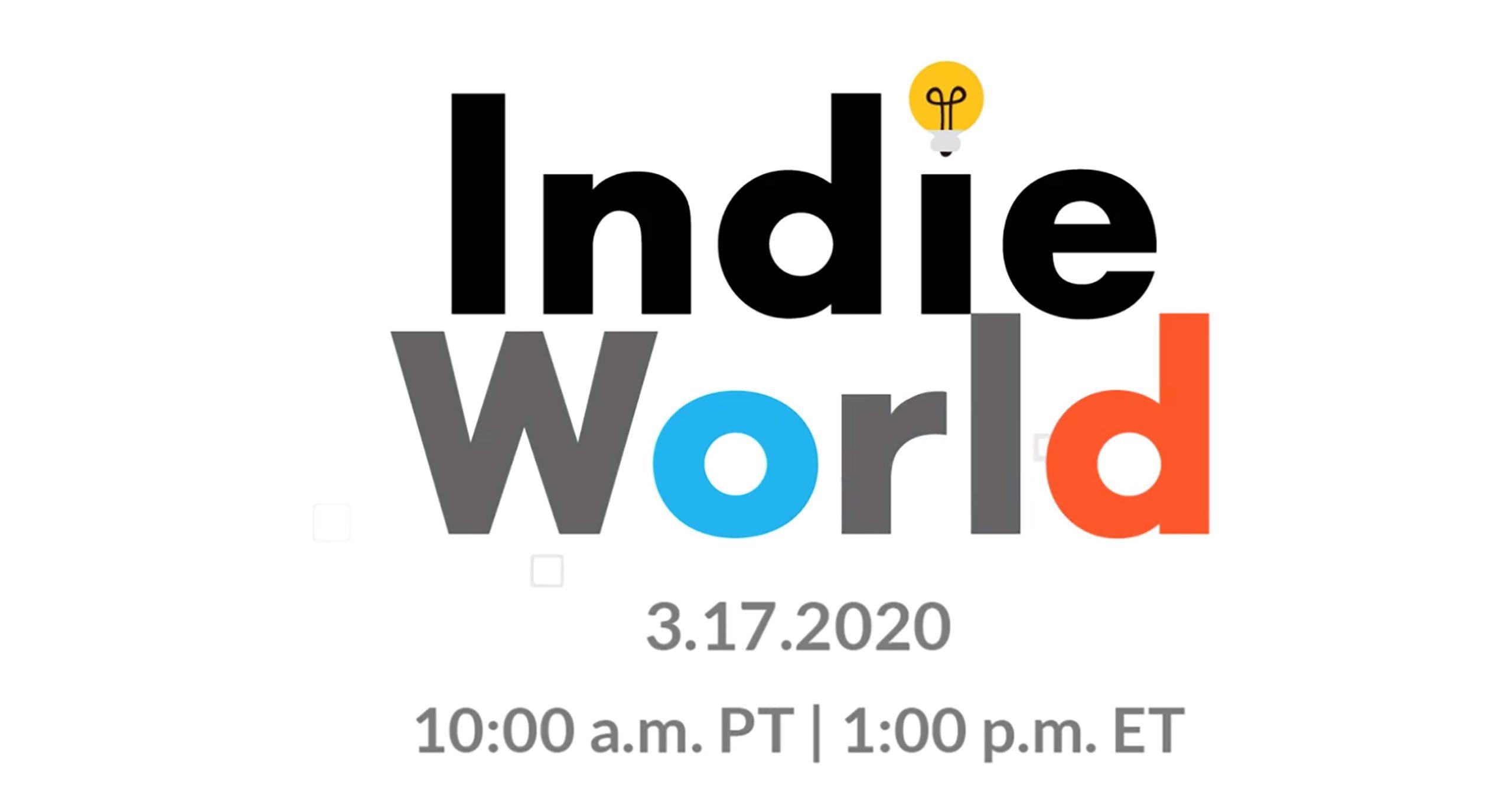 Nintendo Indie World March