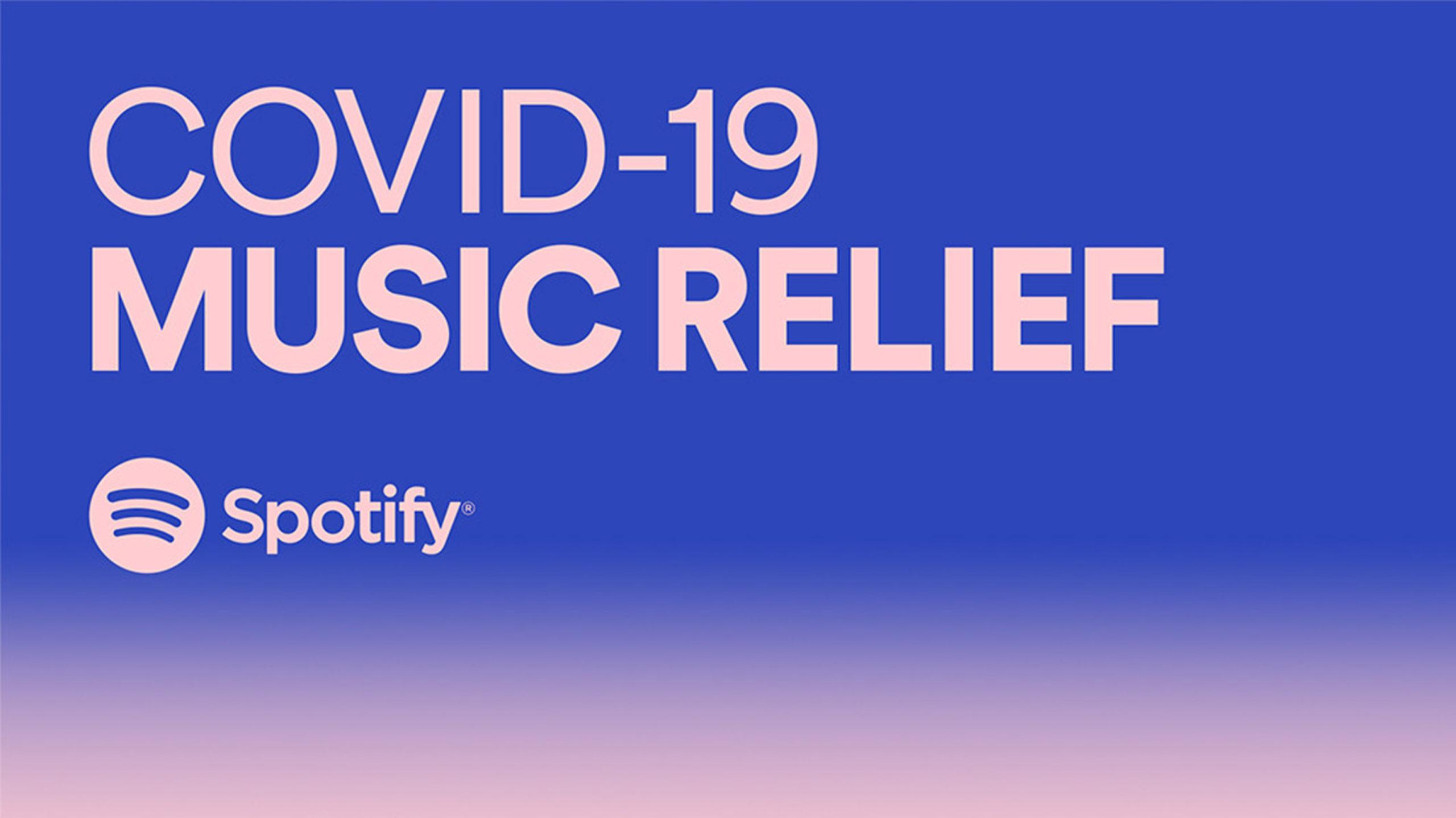 Spotify COVID-19 relief