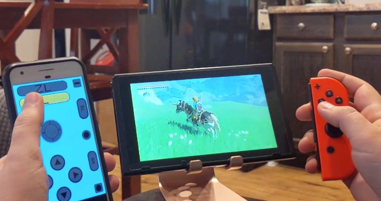 Nintendo Switch app phone Joy-Con