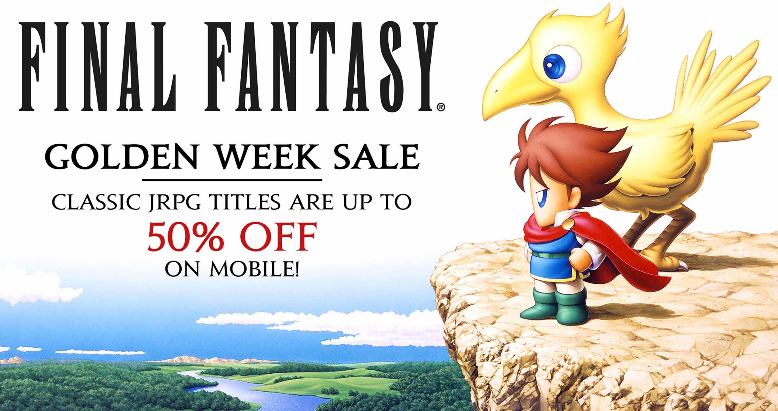 Final Fantasy Golden Week sale