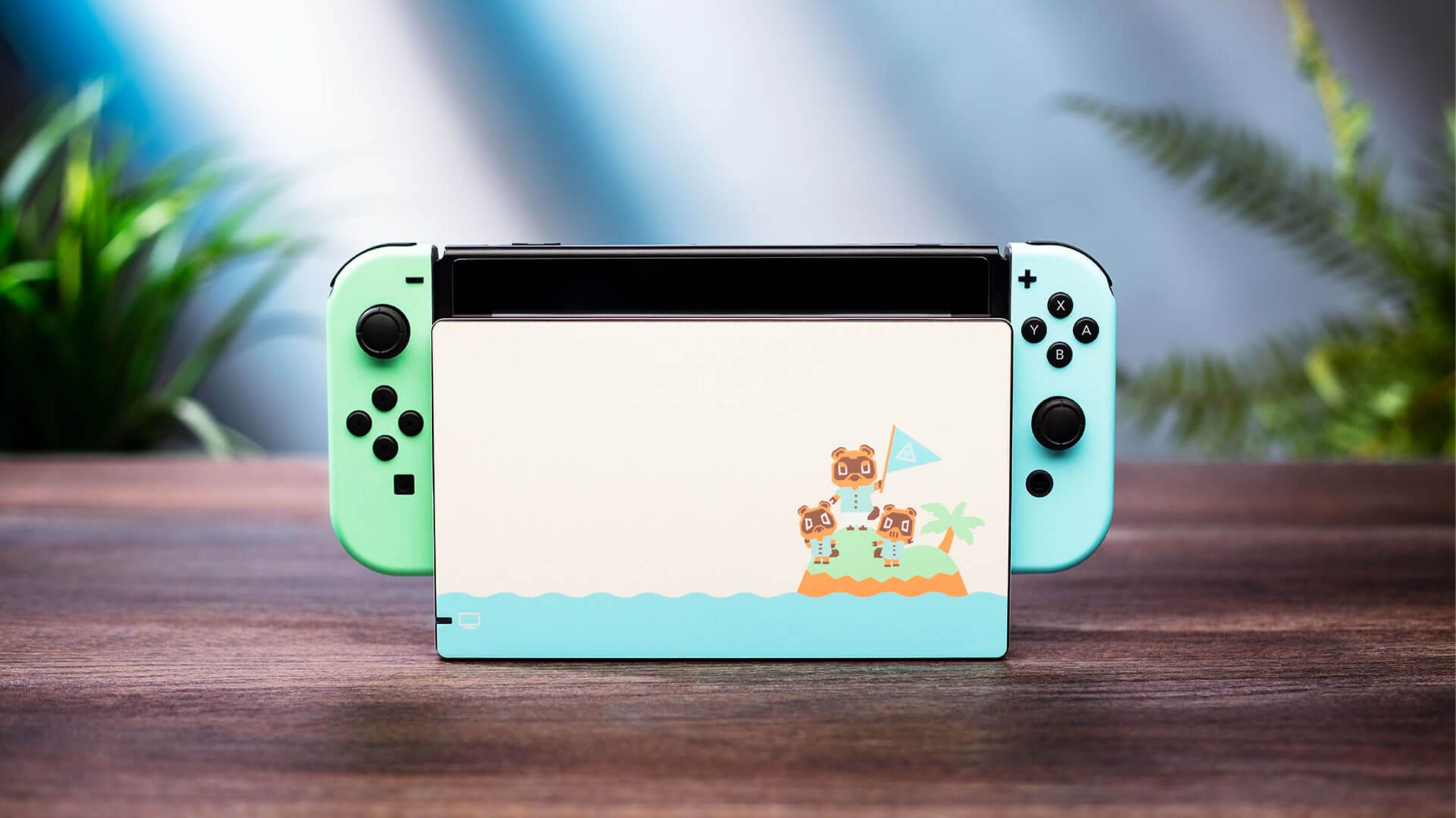 '(not) Animal Crossing' Switch skin