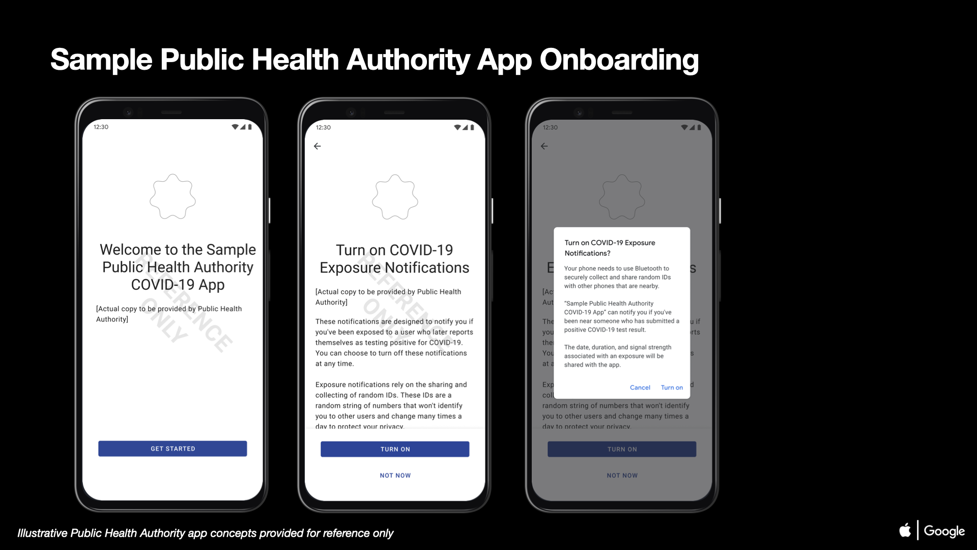 01 COVID-19 Exposure Notifications Sample Public Health Authority App Onboarding Android